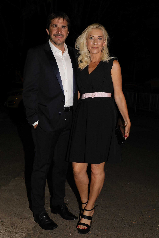 Javier Faroni y su mujer (Fotos Teleshow/Christian Bochichio)
