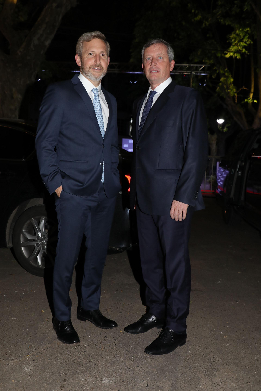 Rogelio Frgerio y Emilio Monzó
