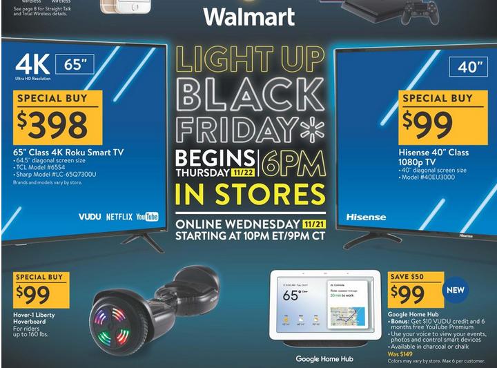 d154ae9fd Walmart como la mayoría de las tiendas han publicado sus anuncios completos  de Black Friday para