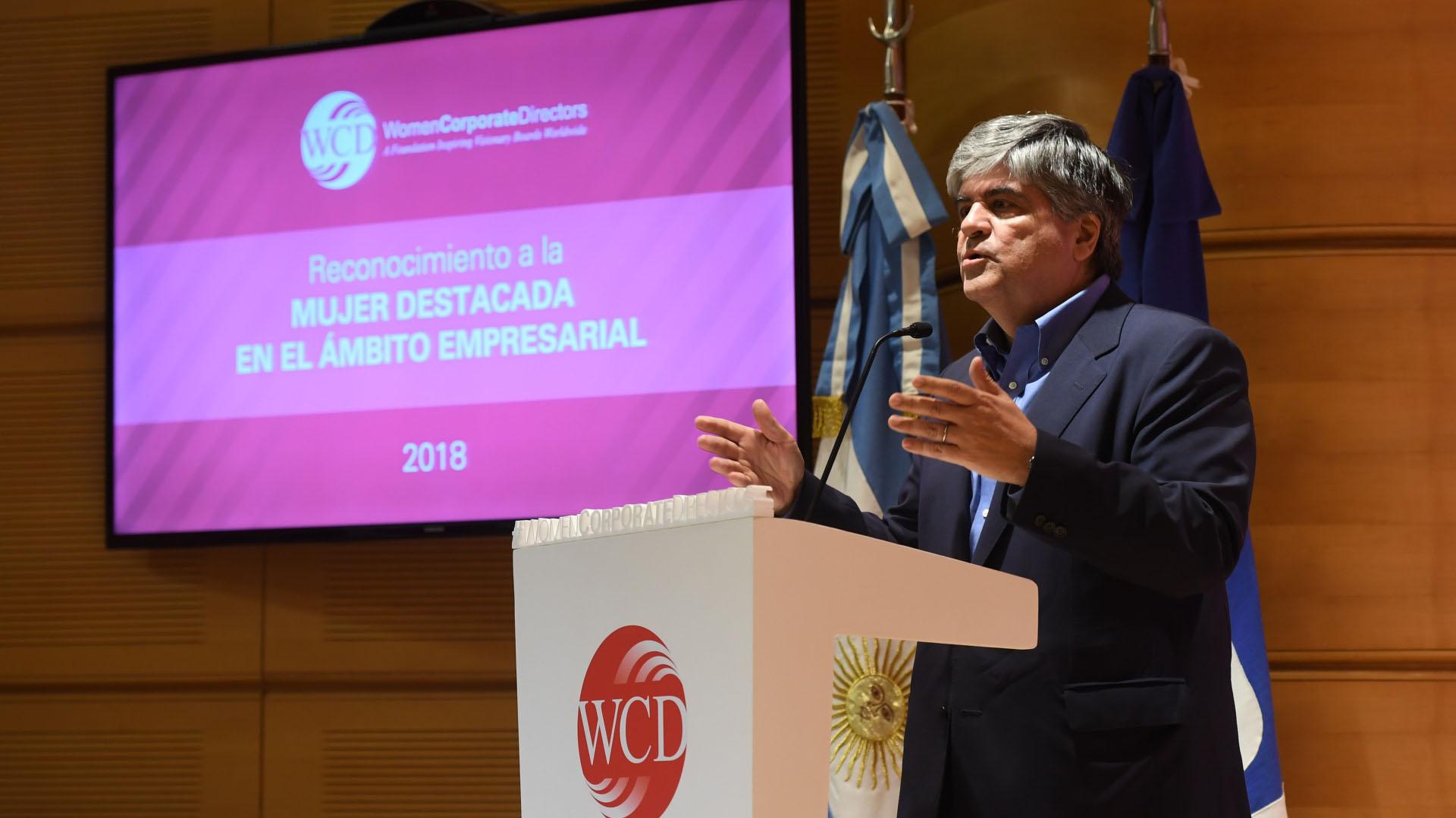 Miguel Gutiérrez, presidente de YPF (Maxi Luna)