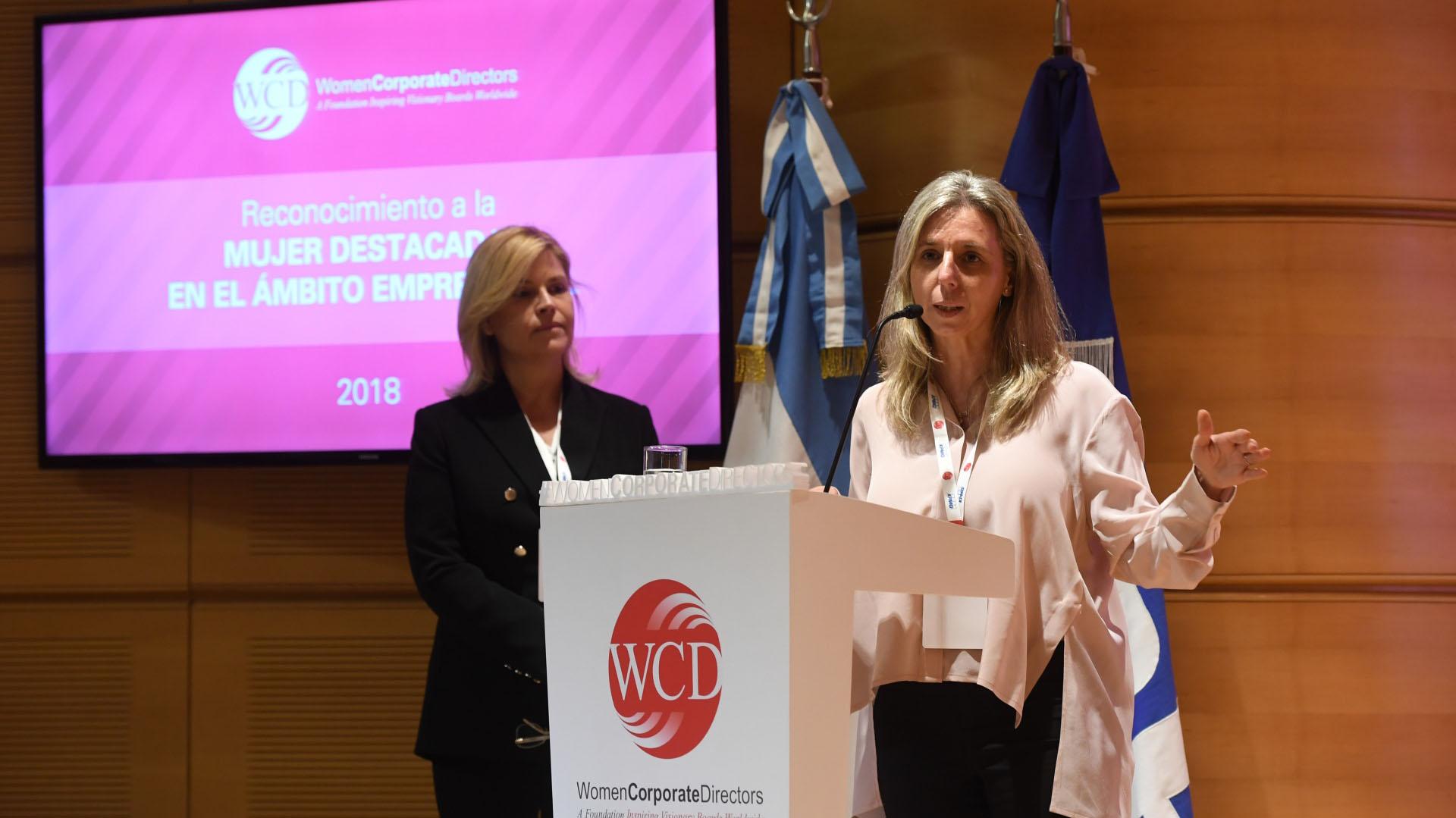 Gabriela Renaudo, gerente general Argentina y Cono Sur de VISA (Maxi Luna)