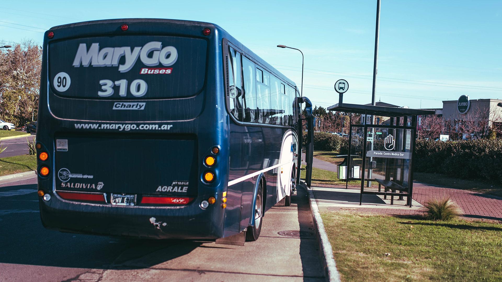 Además del trasporte privado Mary Go, desde hoy ingresará la línea 723 de colectivo a la calle troncal de Nordelta