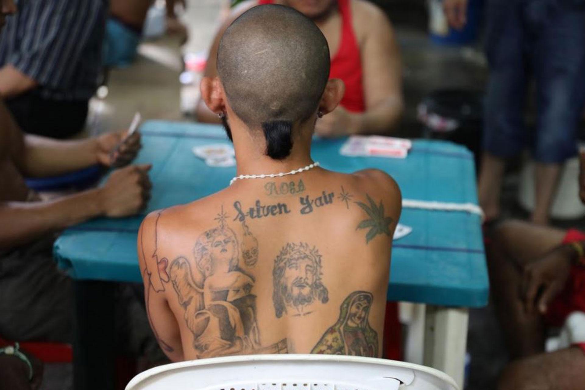 Los pandilleros dominan la escena del país