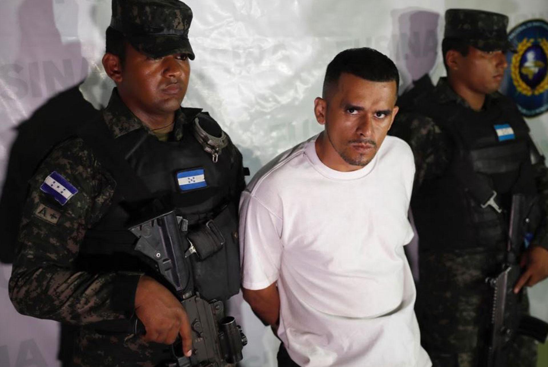 Las fuerzas de seguridad en un operativo en el que arrestaron pandilleros