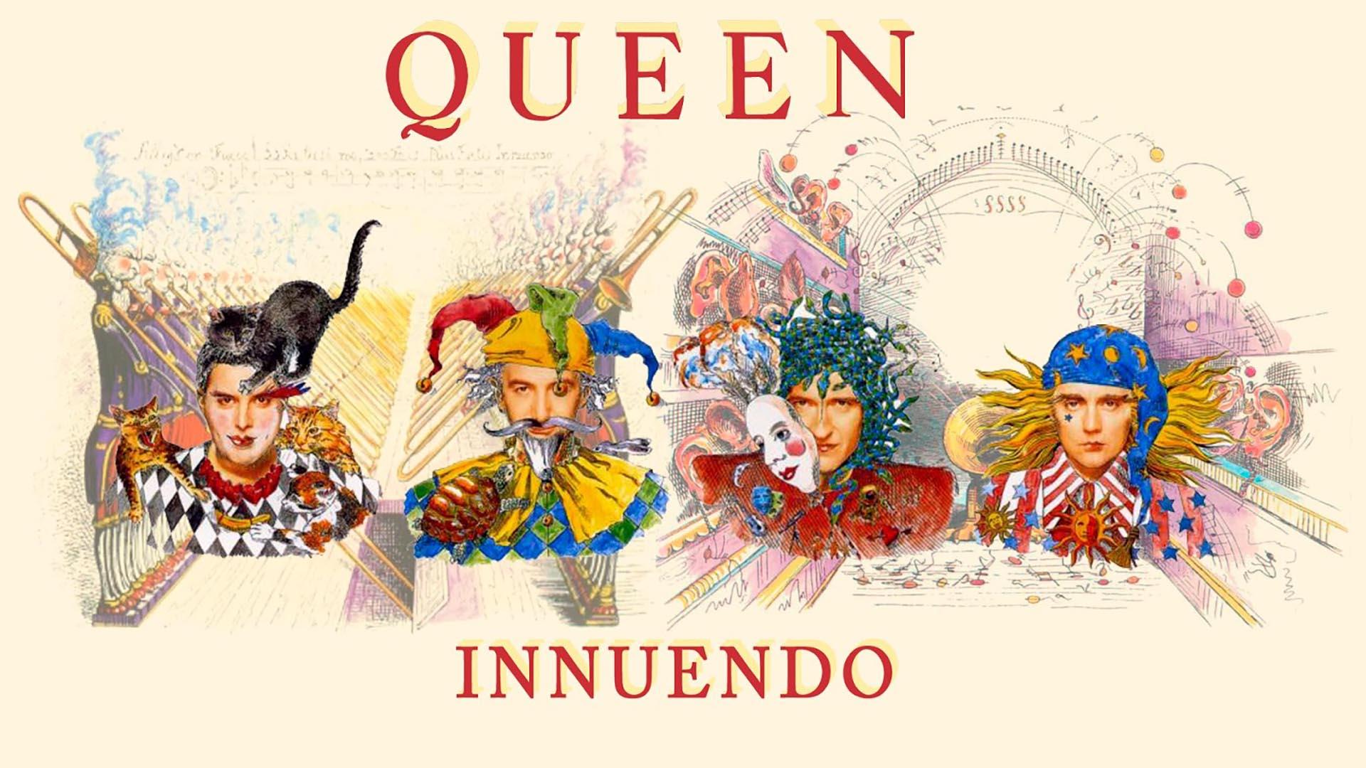 """""""Innuendo"""", el último disco de Queen"""