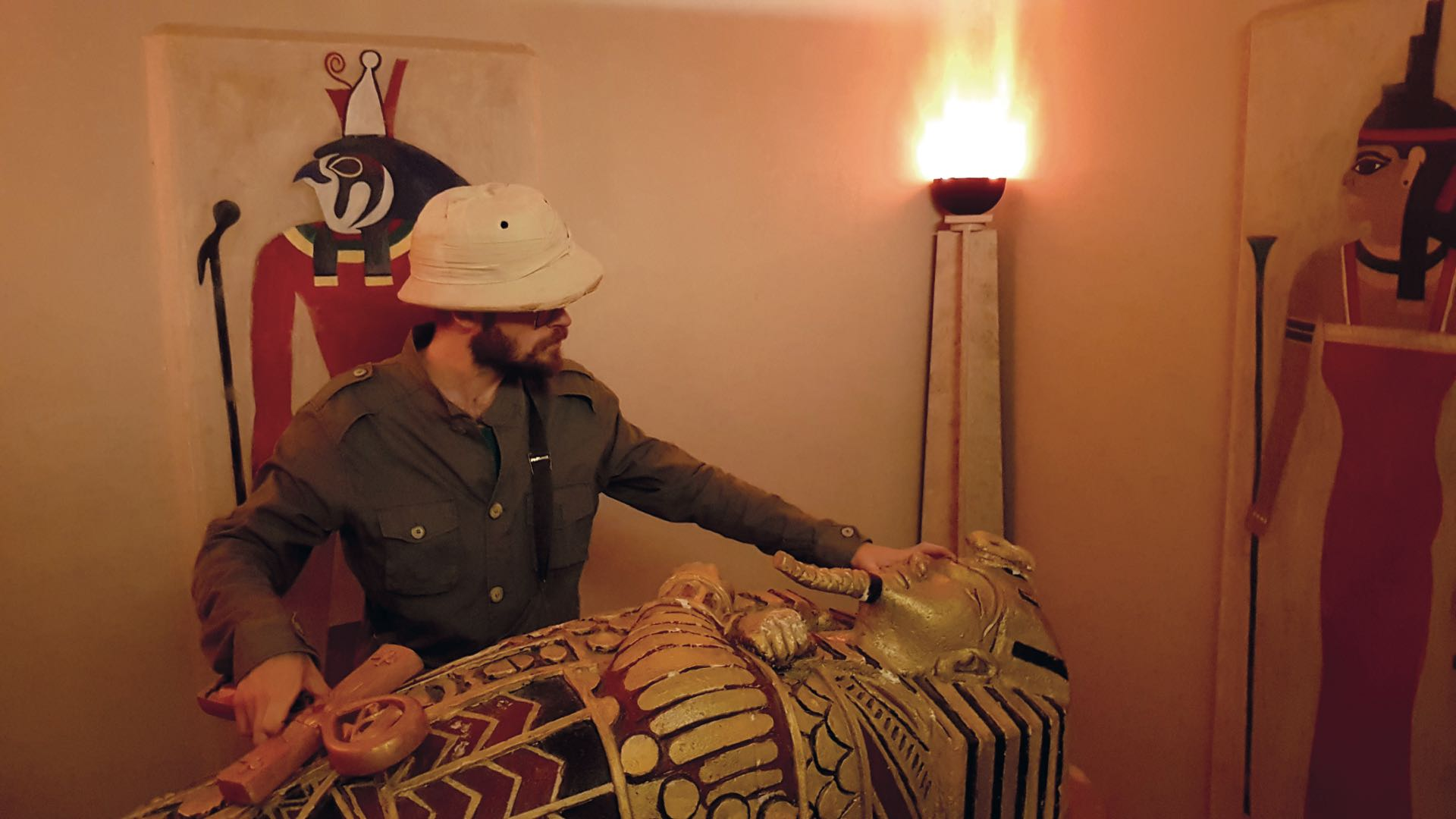 A las salas El faraón y El cetro de UAS se le sumará una de terror que estará lista para principios de 2019.