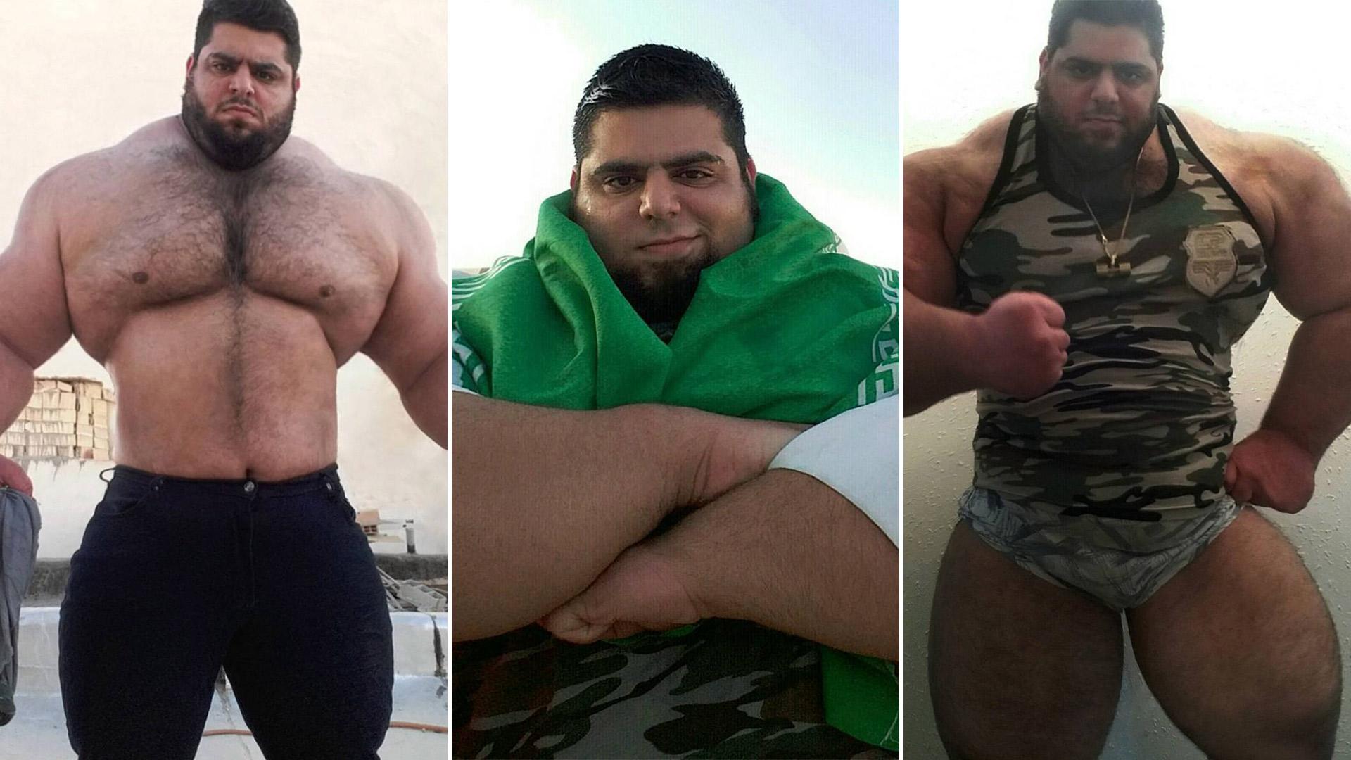 """El """"Hulk"""" iraní quiere combatir en artes marciales mixtas"""