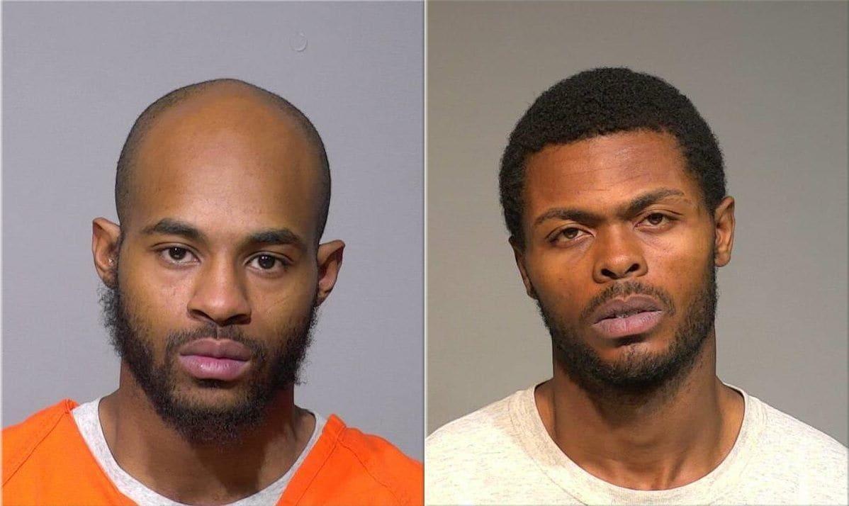 Isaac Barnes, de 26 años, y Untrell Oden, de 27, fueron acusados de la muerte de Sandra Parks, de 13 años. (Milwaukee County Jail)