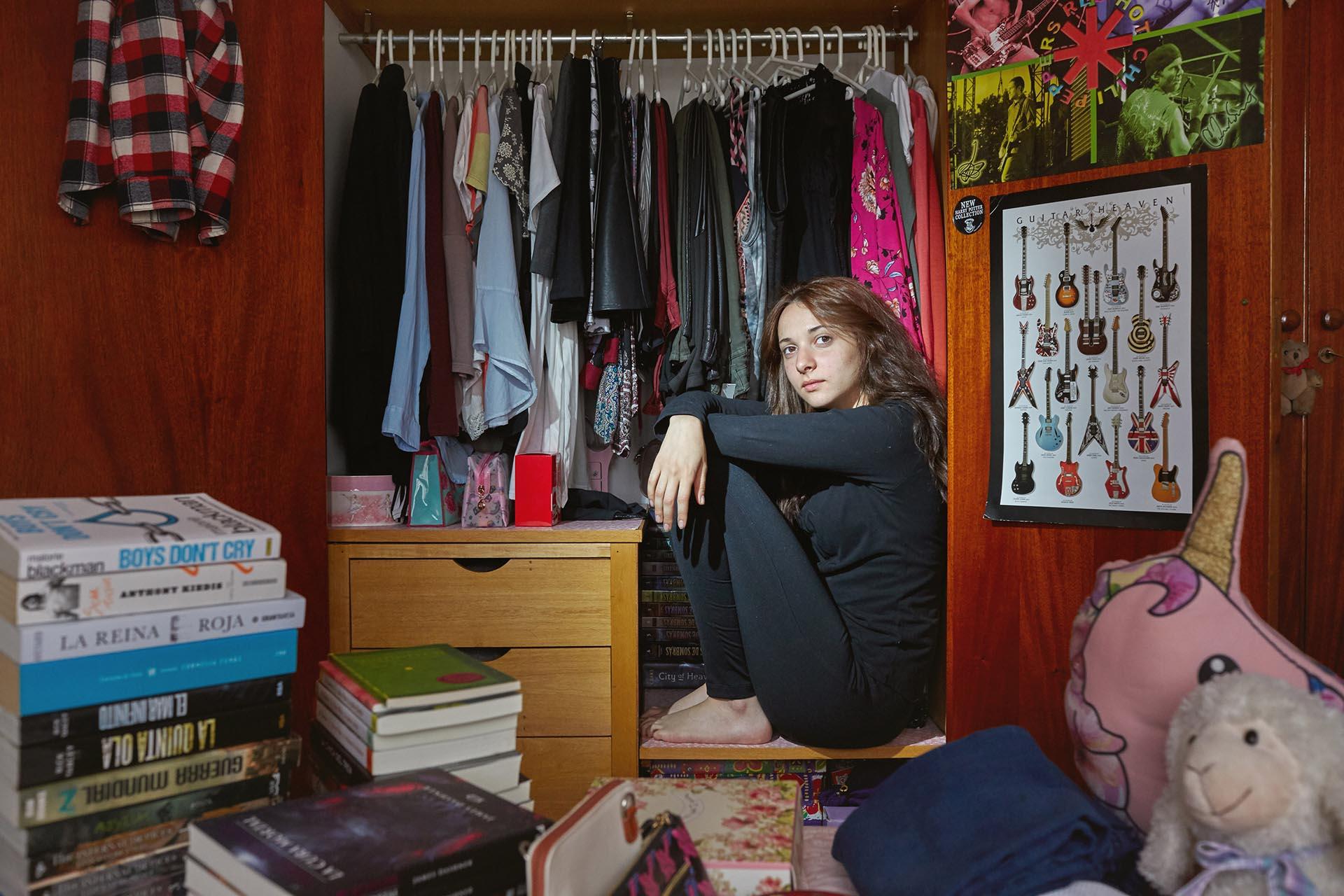 Camila Sanchez, 18 años