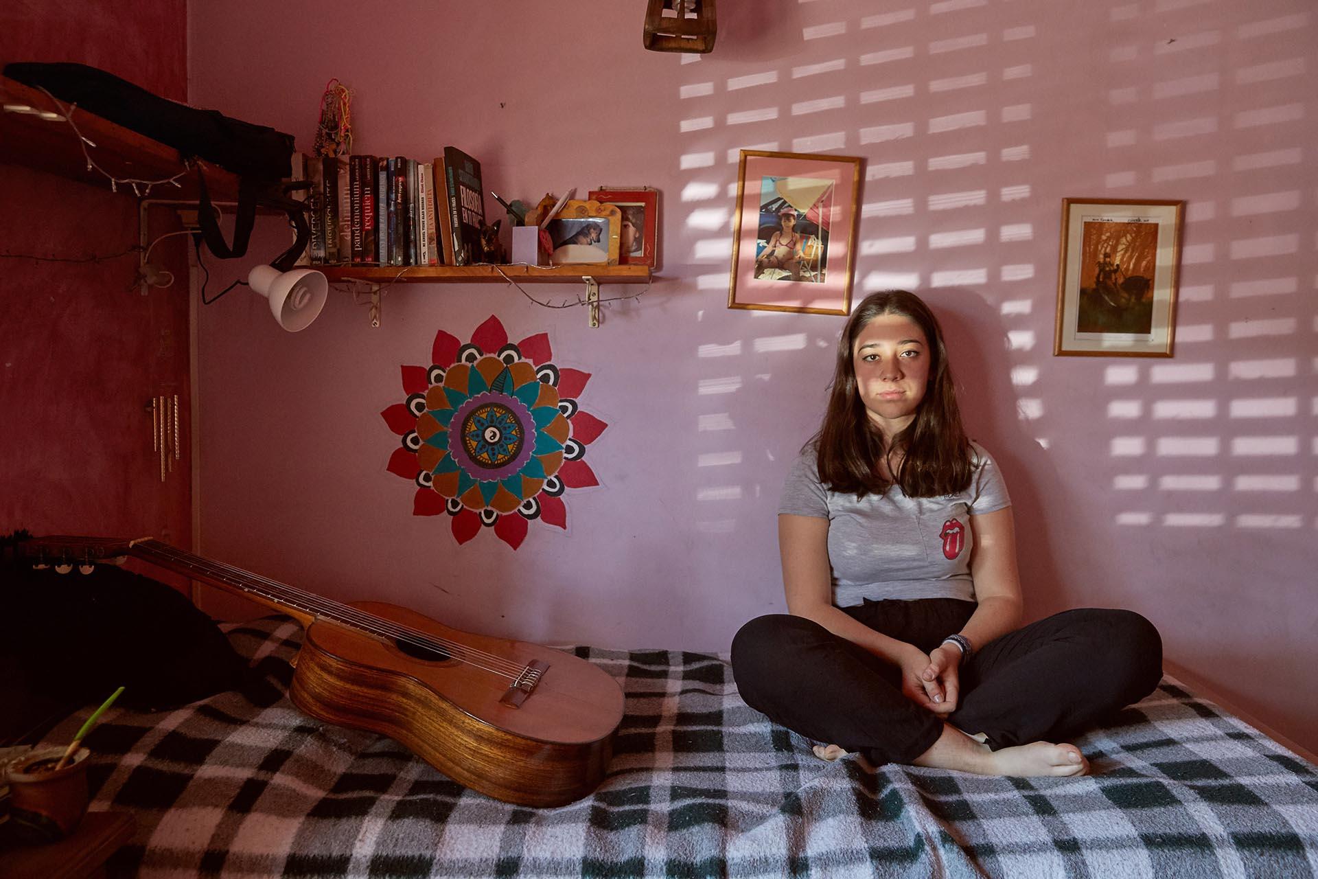 Candela Argibay Ciamarra, 16 años