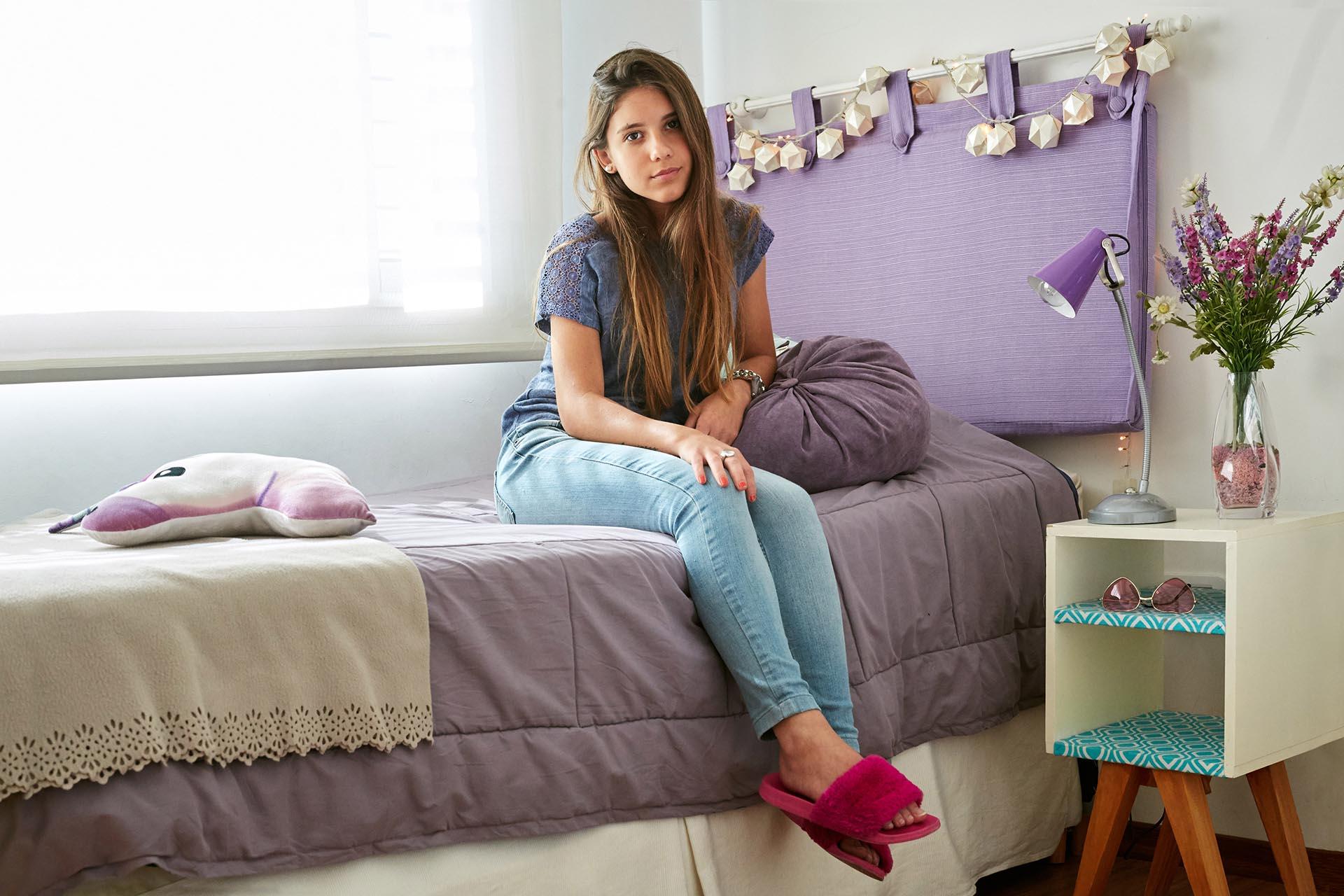 Delfina Irañeta, 17 años