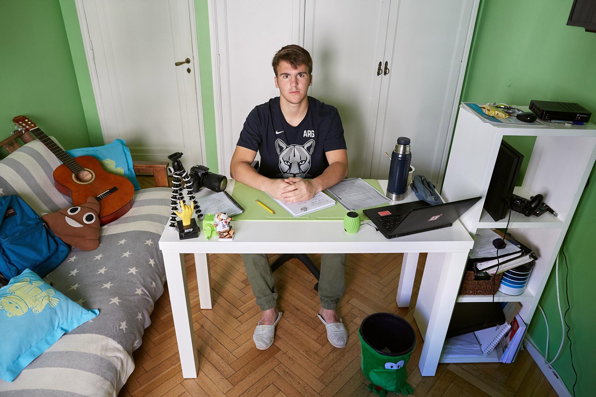 Gonzalo Seré, 16 años