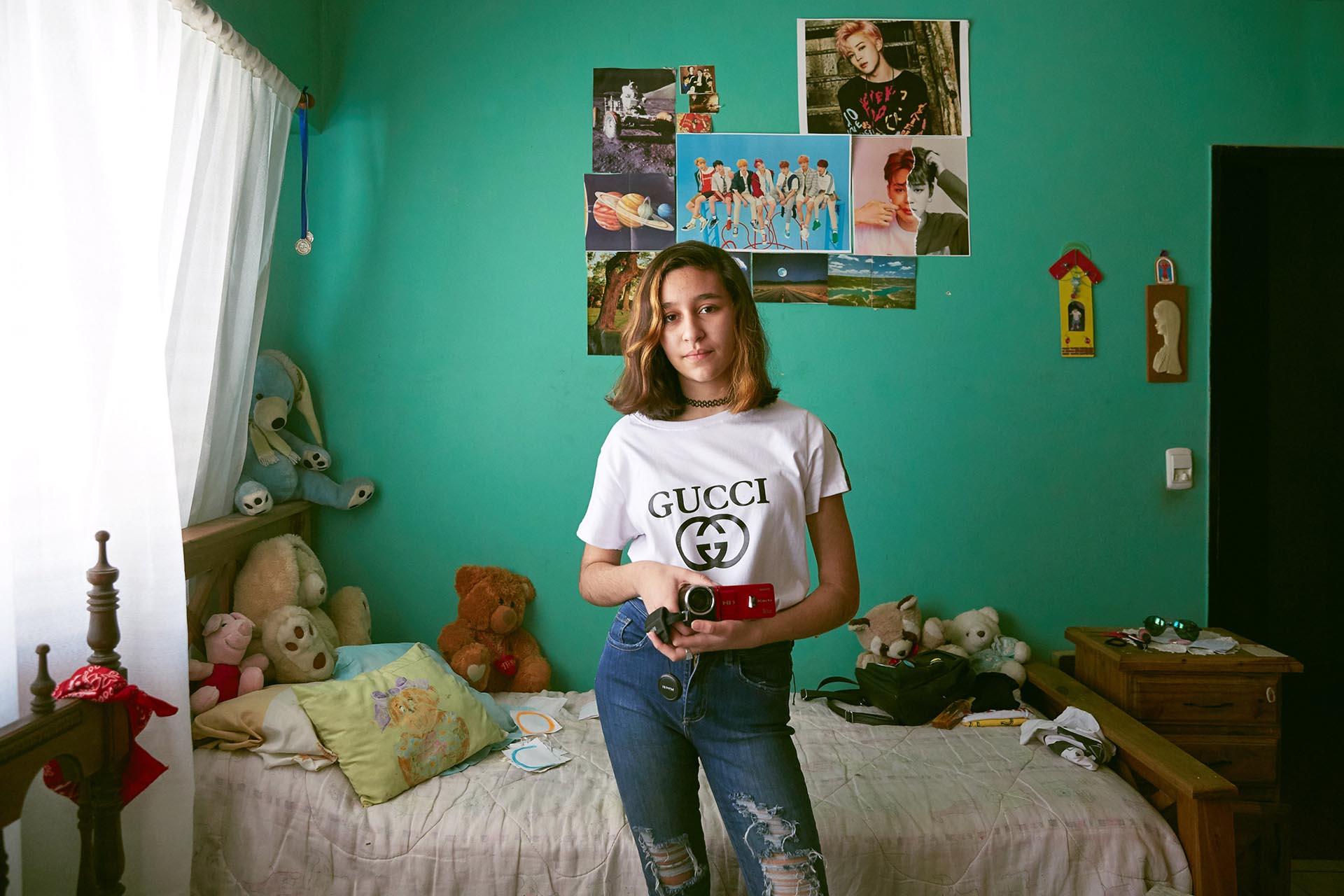 Guadalupe Greco, 13 años