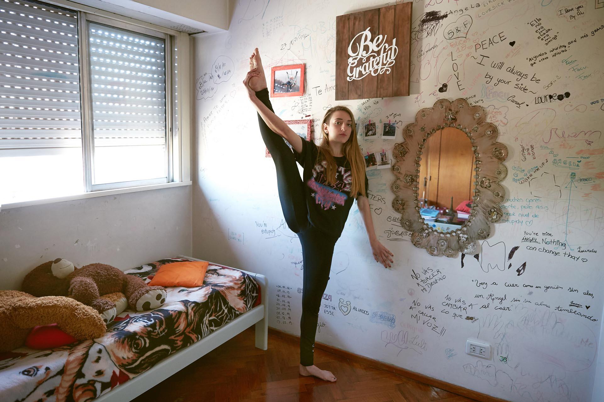 Lourdes Togneri, 18 años