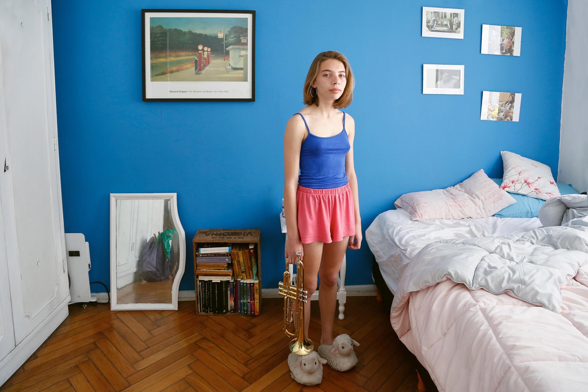 Lucero Simoes, 15 años