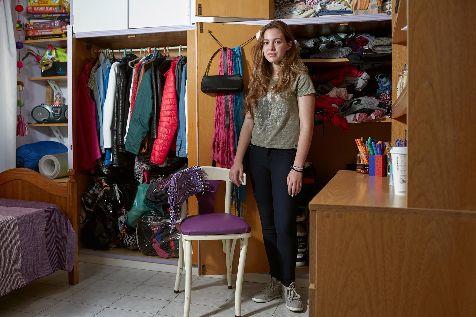 Pilar Schiappacasse, 16 años