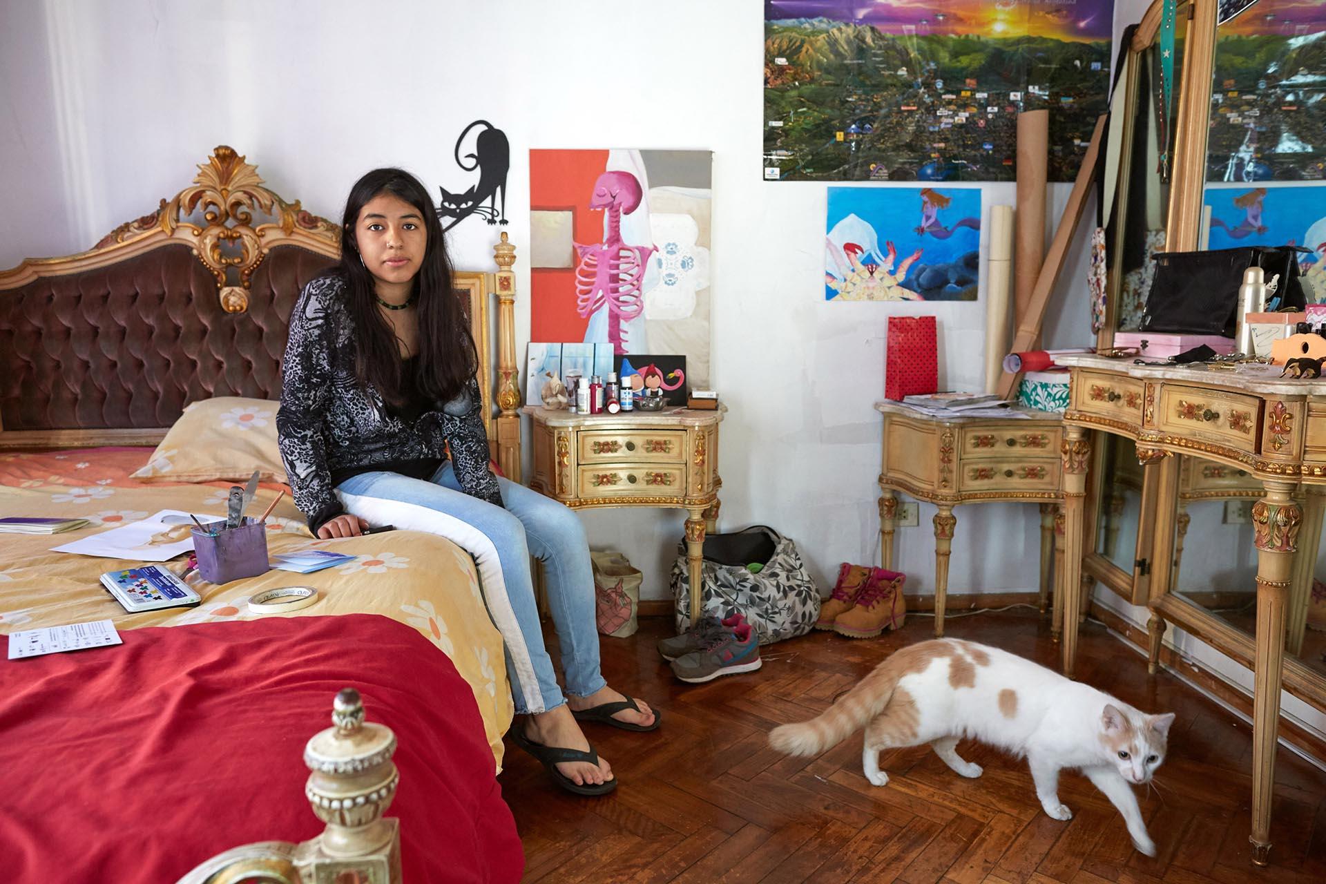 Sol Palacios Ferreiro, 17 años