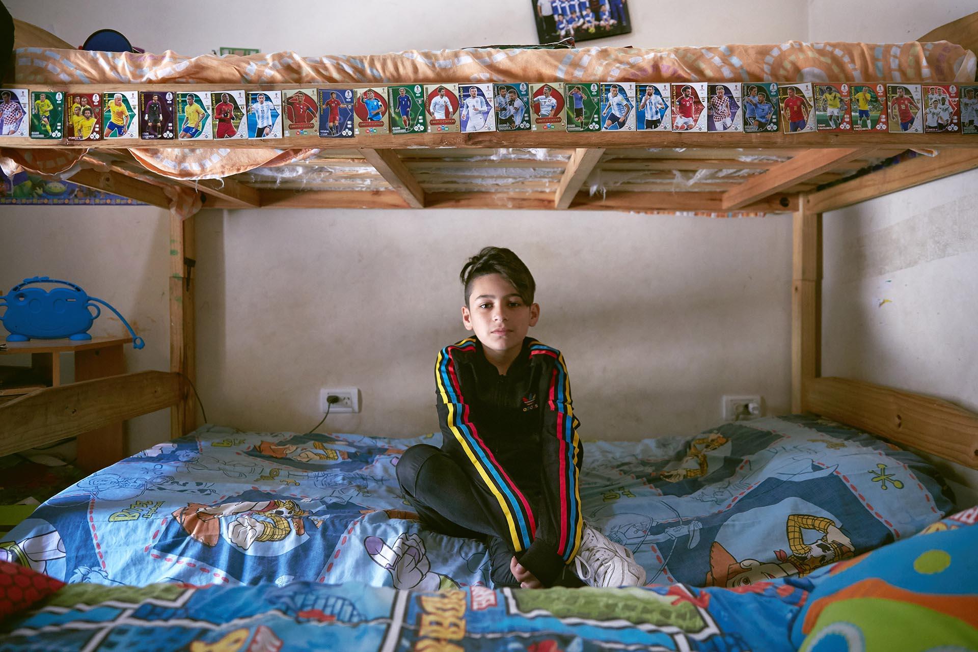 Valentín Santos, 13 años