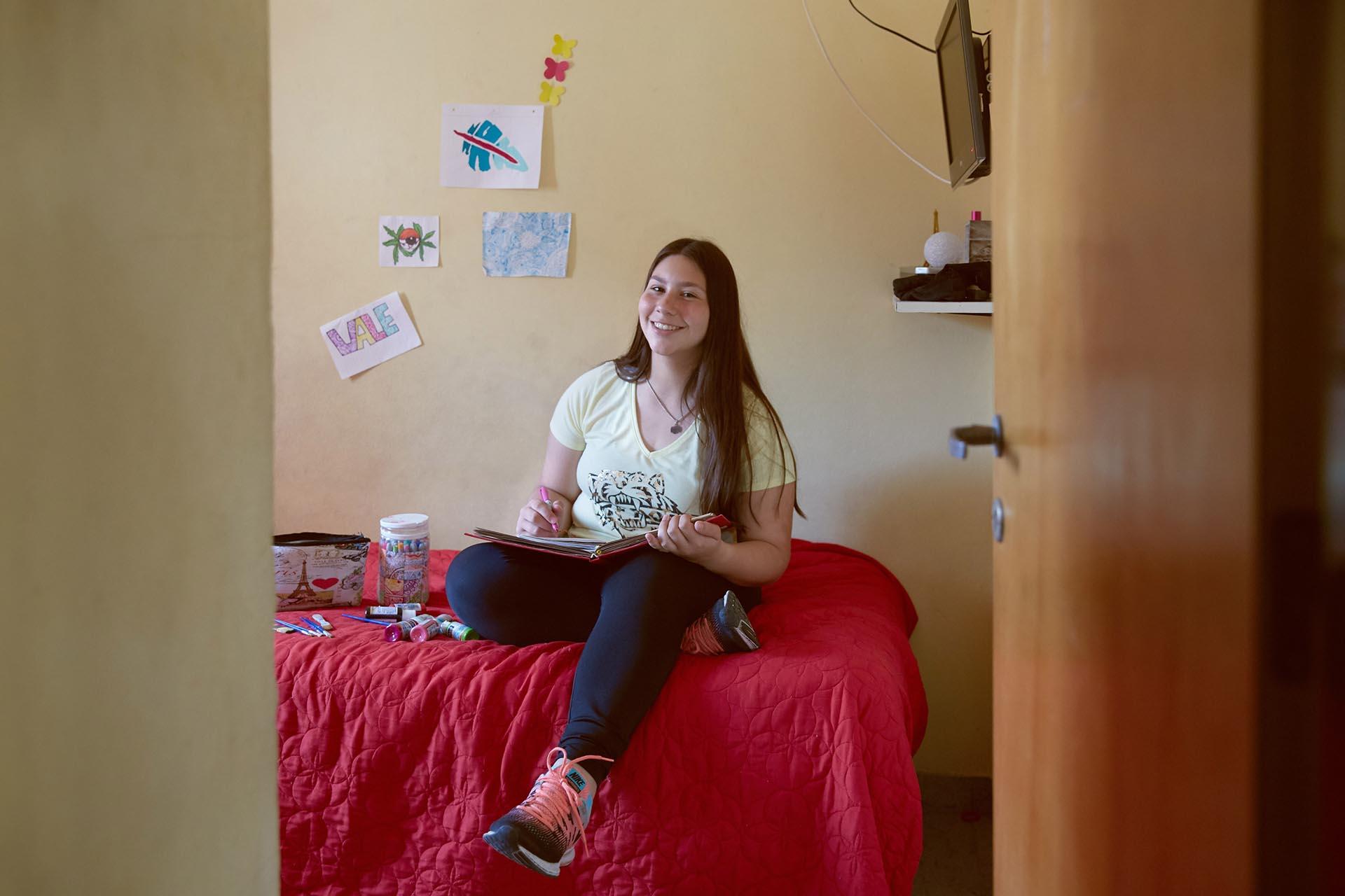 Valeria Onacht, 15 años