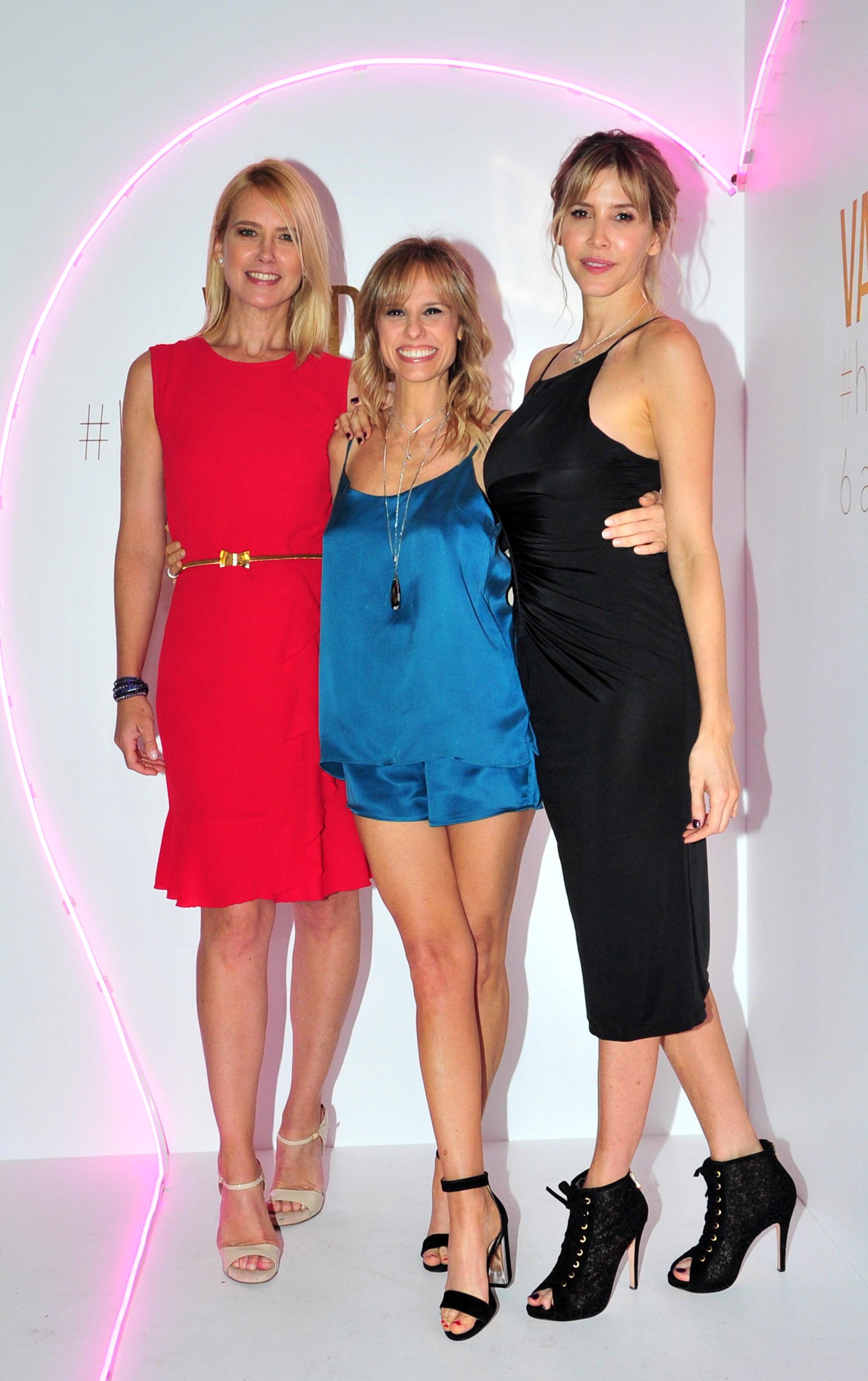 Valeria Mazza, Mariana Fabbiani y Guillermina Valdes (Teleshow)