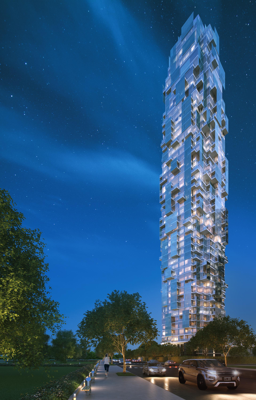 La torre tendrá 52 pisos y 192 mts de altura.