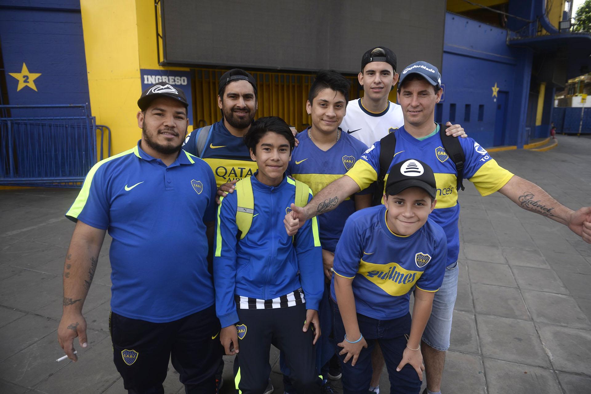 Será el último gesto de respaldo antes del encuentro que definirá al campeón de la Copa Libertadores 2018.