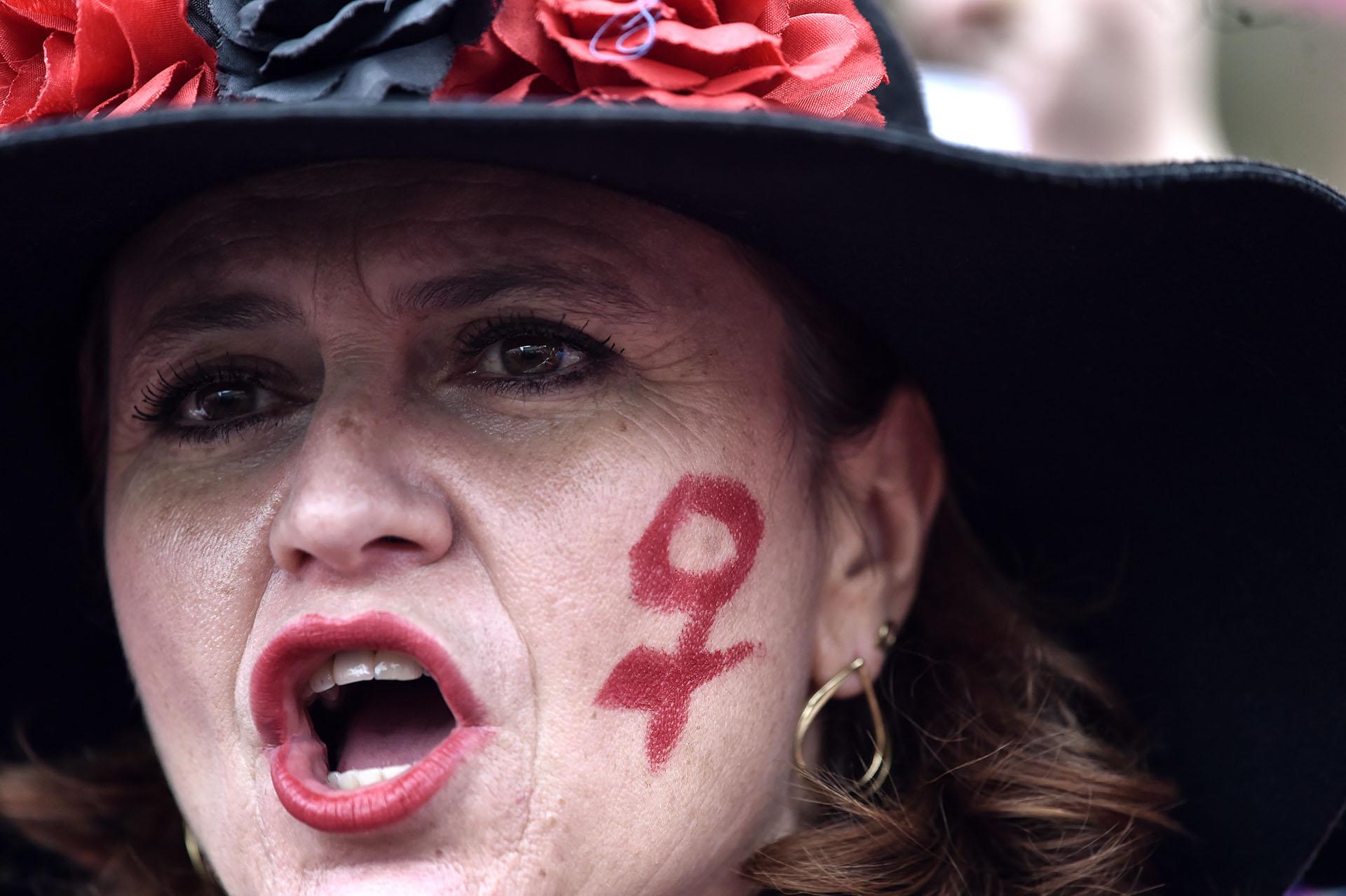 Mujeres de toda edad participaron en las manifestaciones