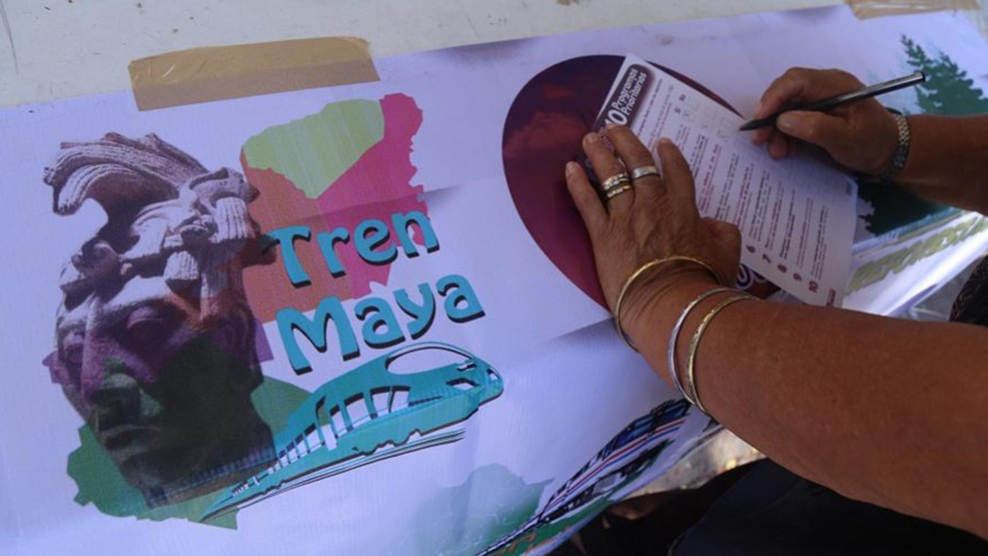 Además del Tren Maya, la consulta incluyó otros programas prioritarios del próximo gobierno de México. (Foto: Cuartoscuro)