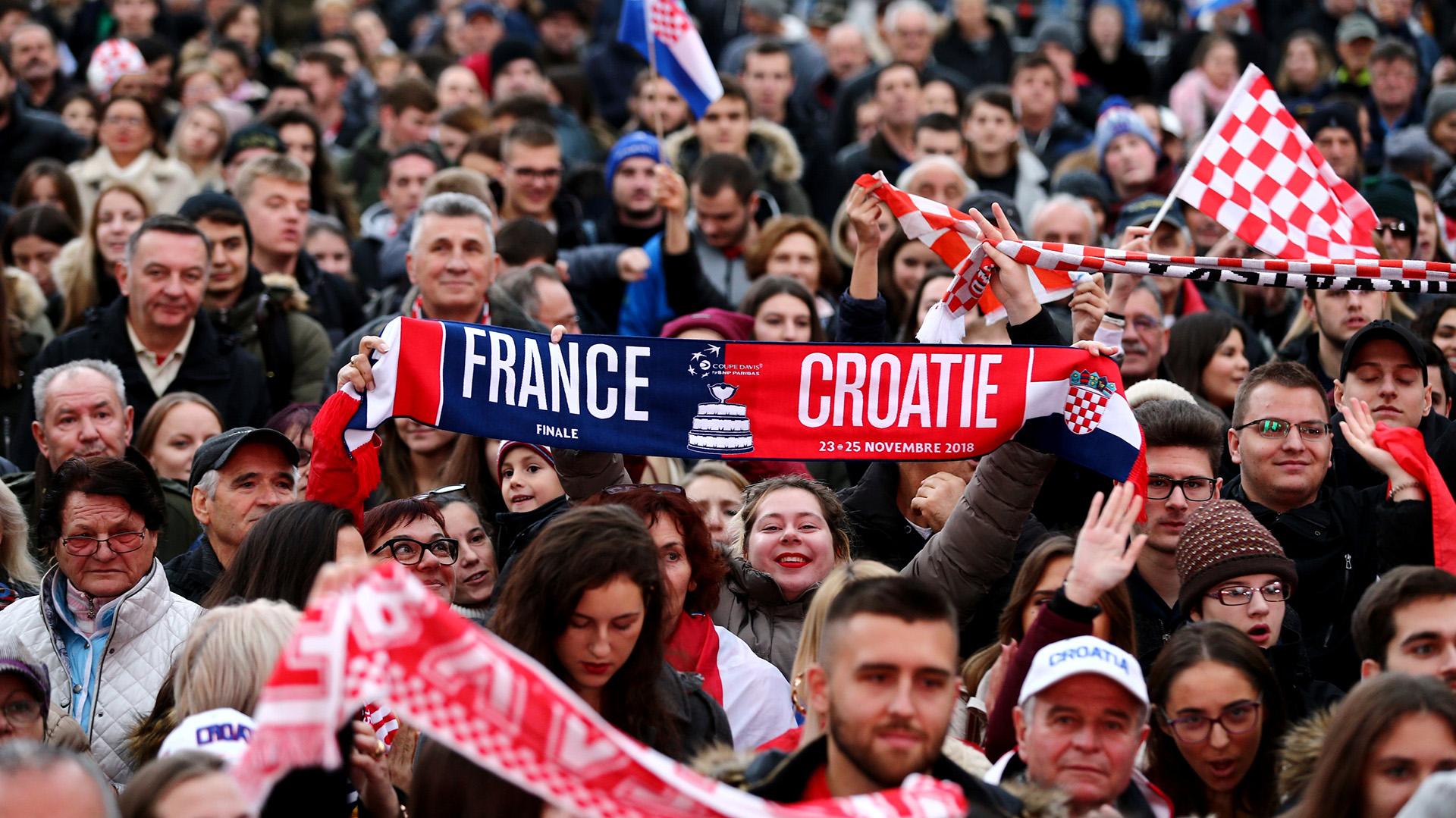 Croacia quedó décimo en la tabla de máximos ganadores de Copa Davis, liderada por Estados Unidos con 32 y Australia con 28