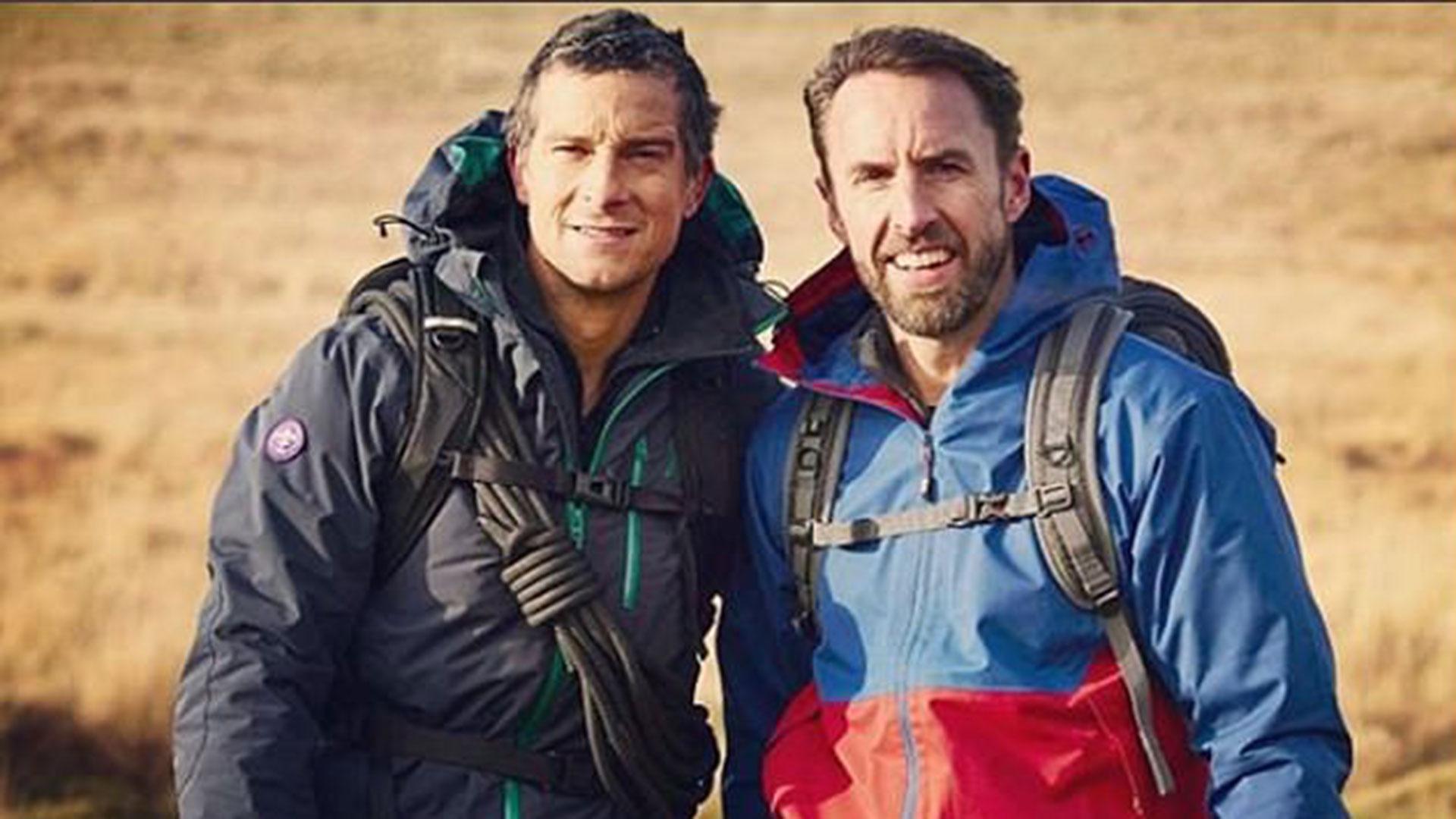 Bear Grylls y Gareth Southagte
