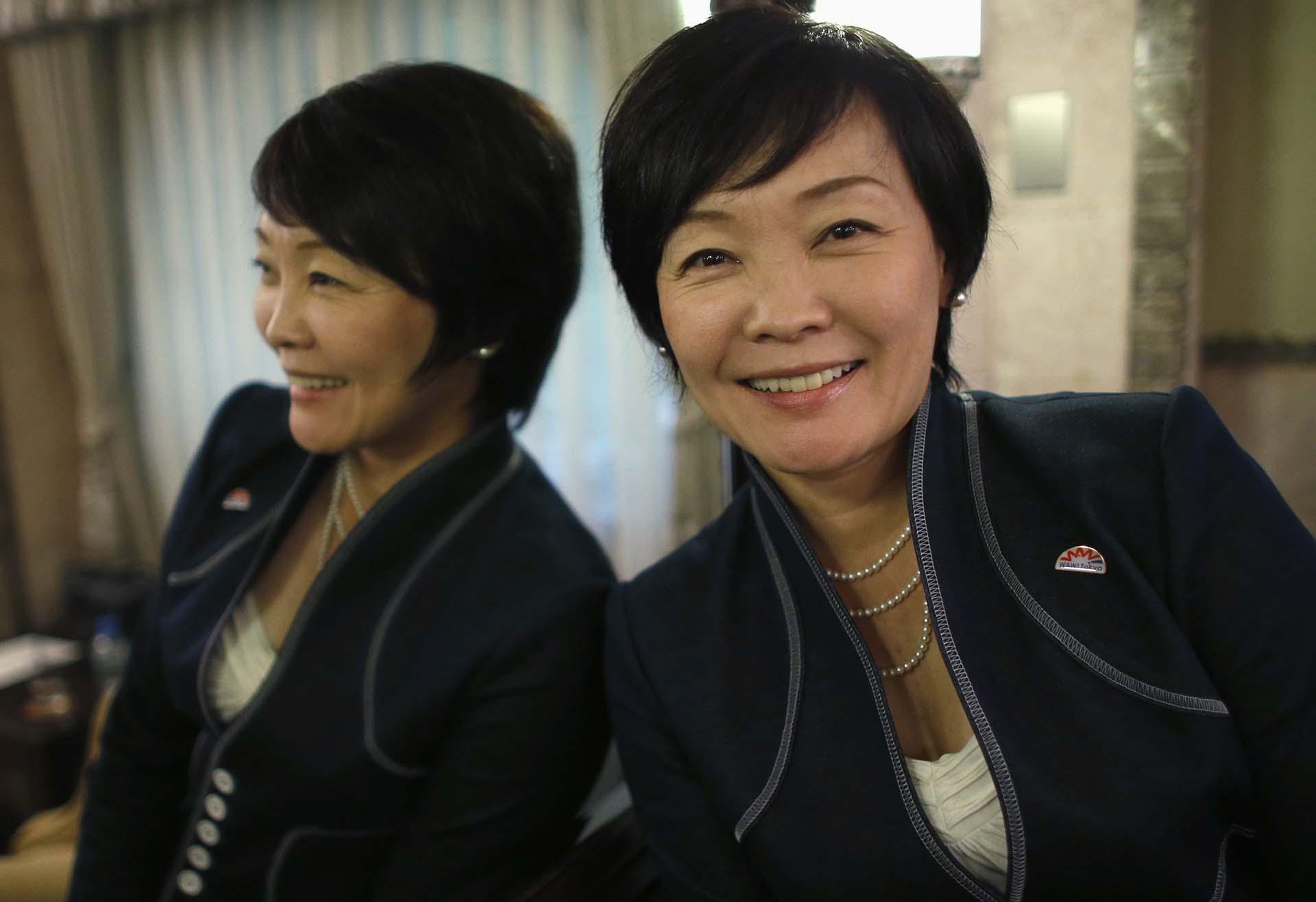 Akie Abe primera dama desde 2012, tiene una fuerte personalidad, muchas veces piensa distinto a su marido