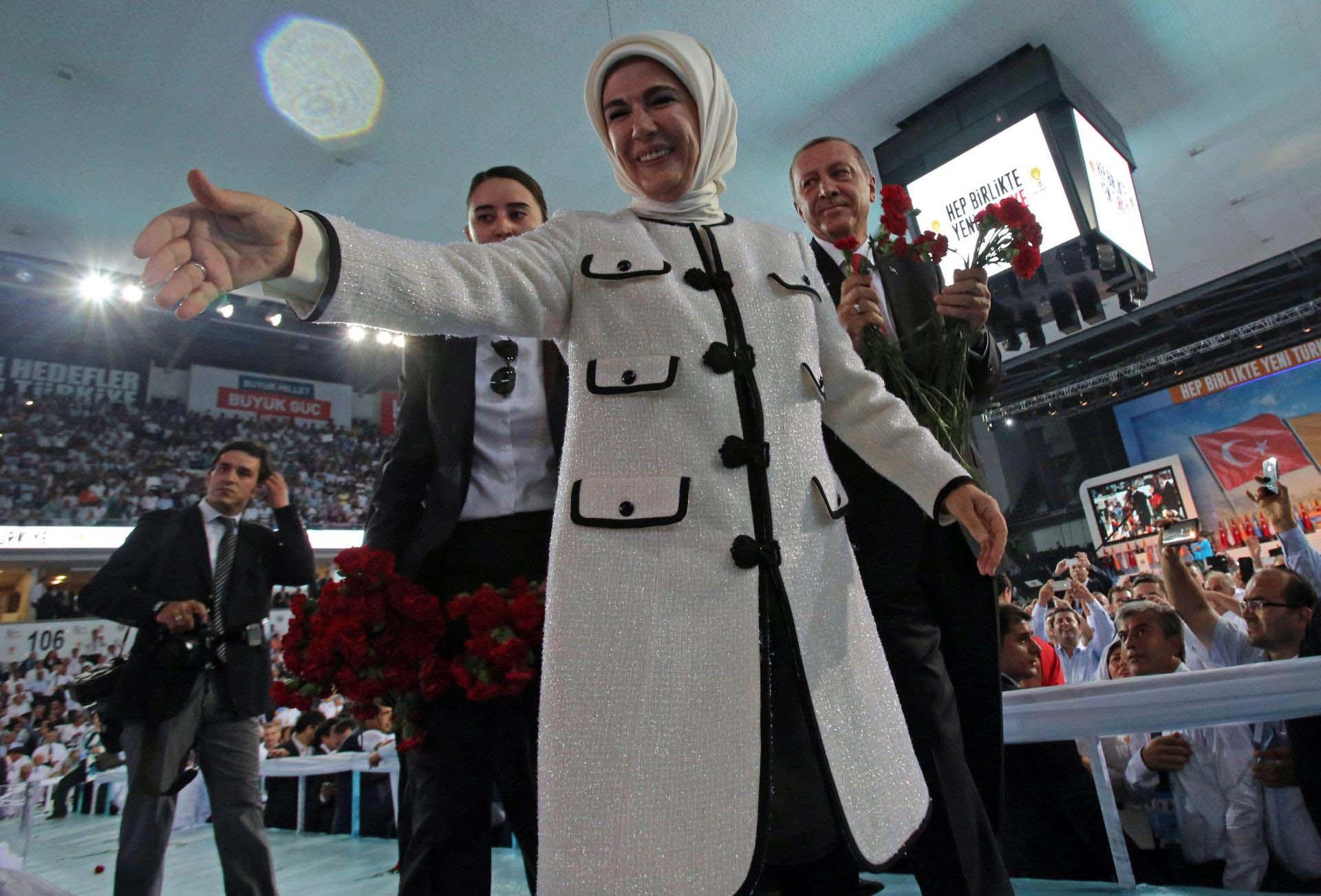Emine-Erdoğan, una de las primeras damas más influyente