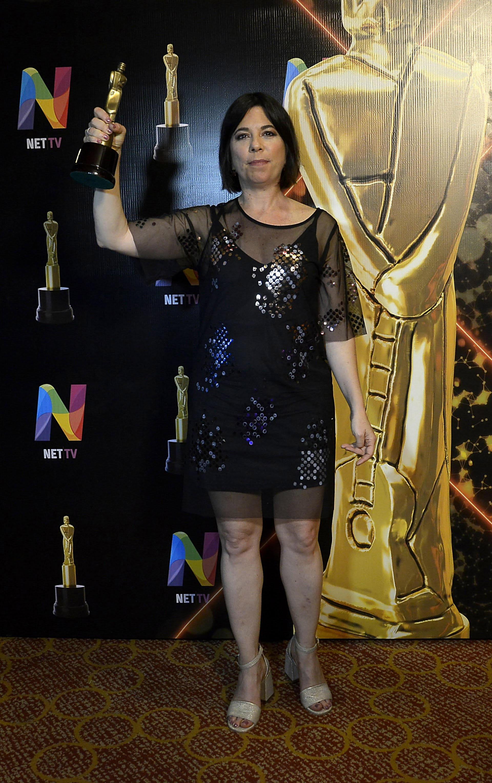 """María O'Donnell, que trabaja en el ciclo """"Perros de laCalle"""", de radio Metro, fue reconocida como la mejor analista política"""