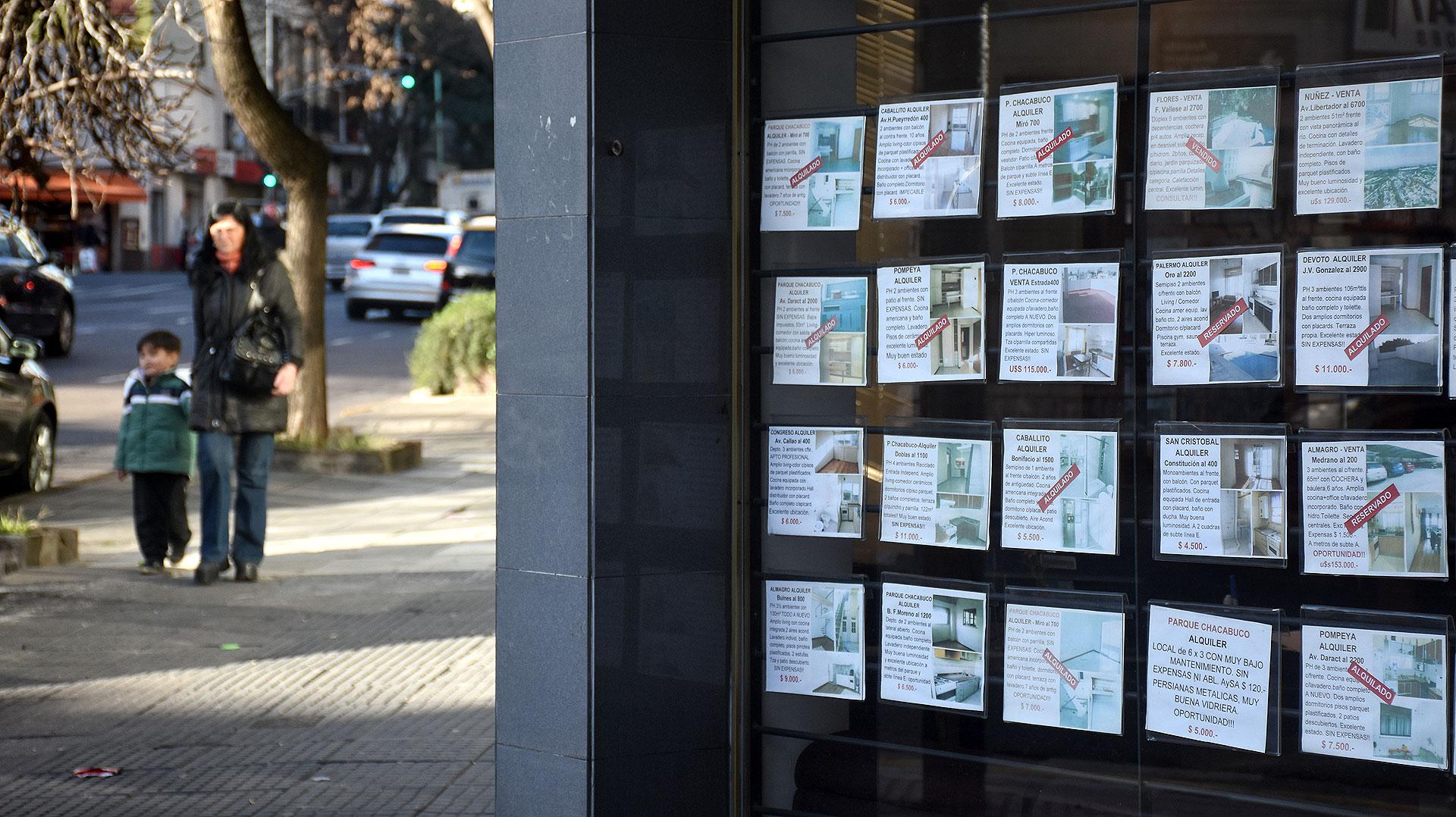 Los alquileres en la ciudad de Buenos Aires tiene un valor promedio de más de $14.000