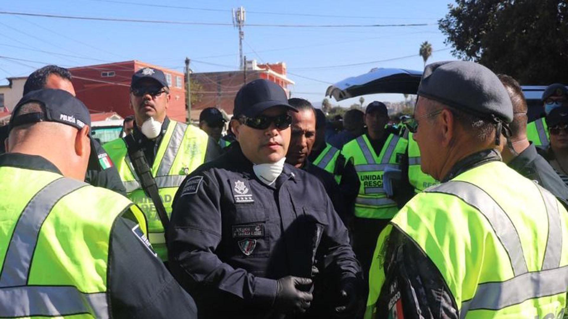 La Policía Federal mexicana reforzó su presencia en Tijuana. (Foto: Especial )