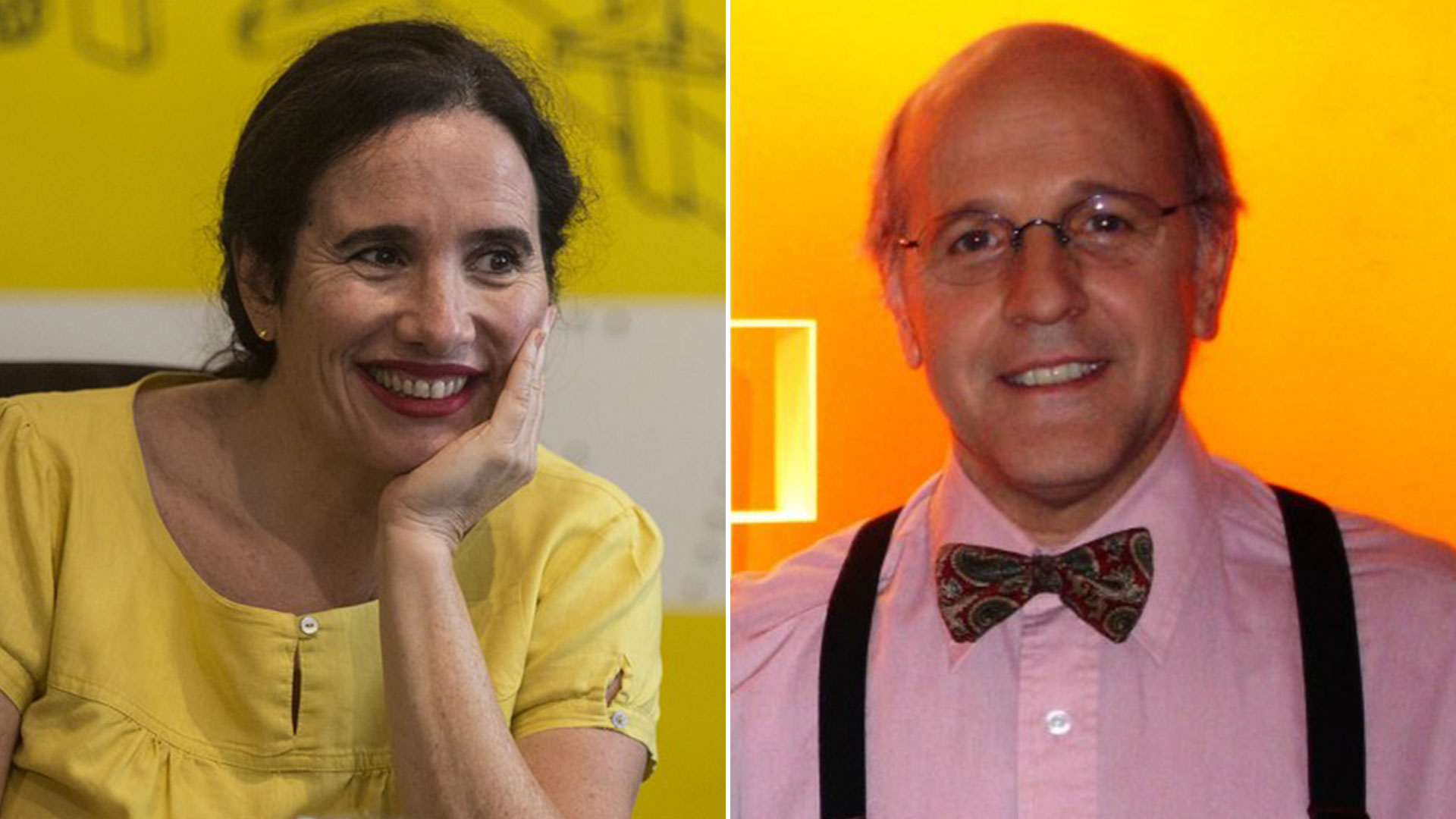 Carolina Biquard y Mariano Roca