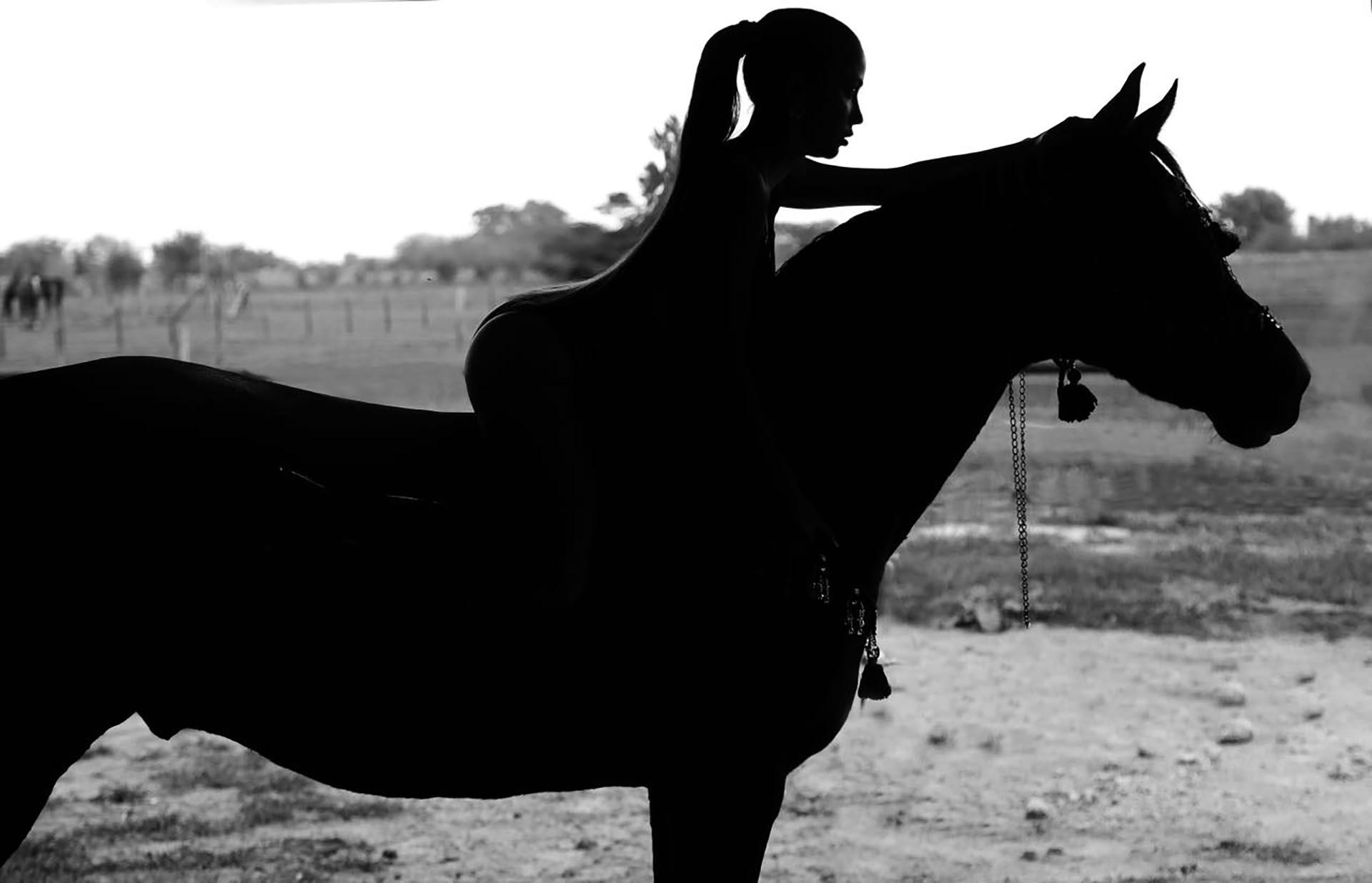 La actriz reconoció que tiene pasíon por los caballos