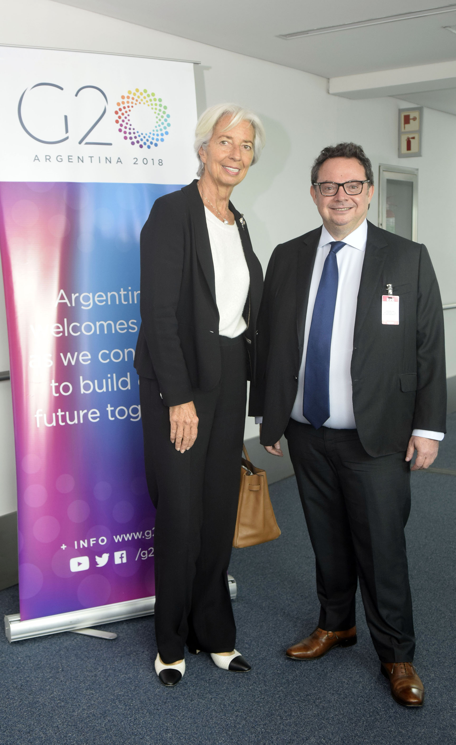 Previo a su aterrizaje, la representante del FMI se encargó de poner una fecha a la recuperación de la Argentina