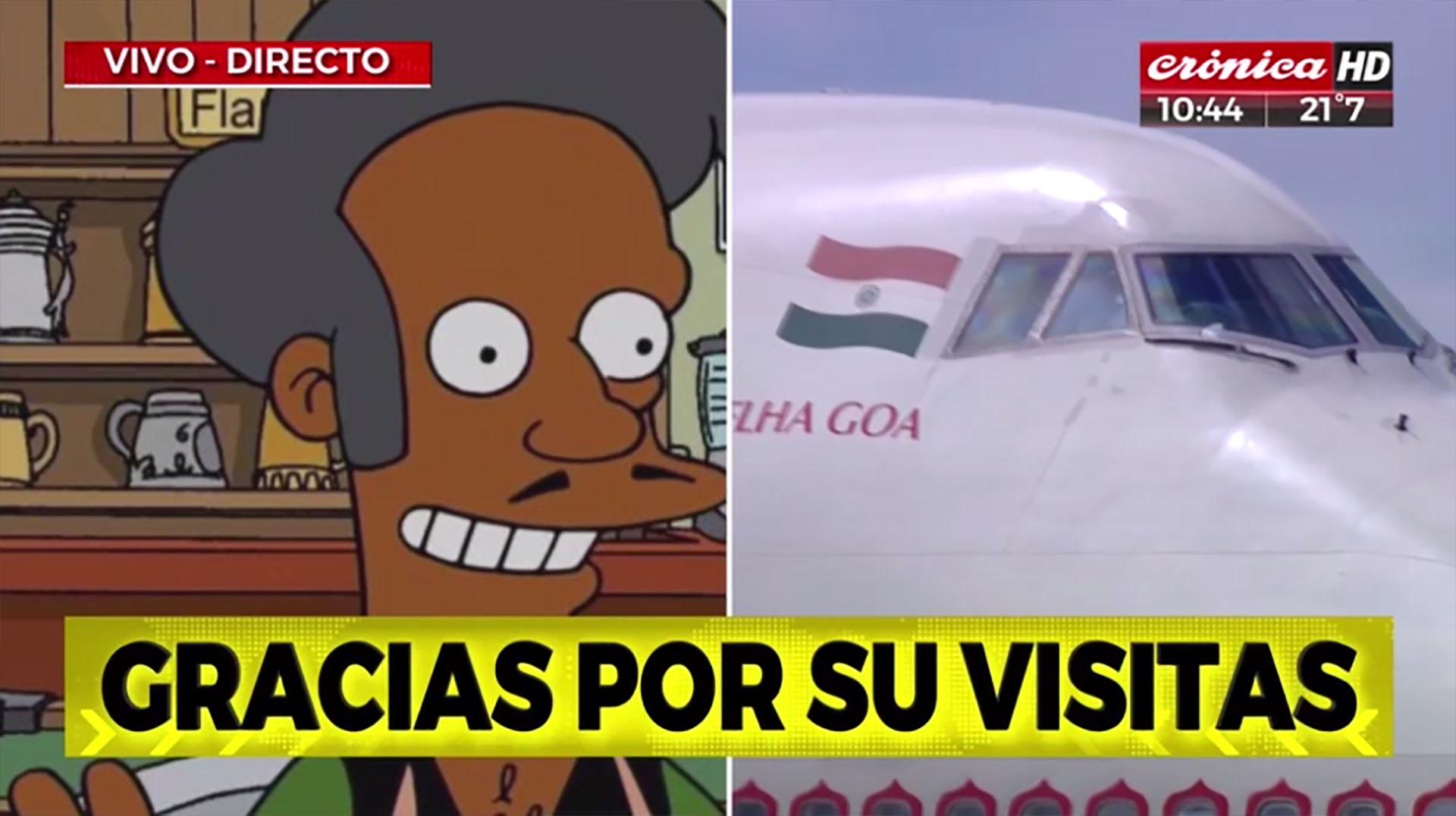 Apu, el personaje indio de Los Simpsons