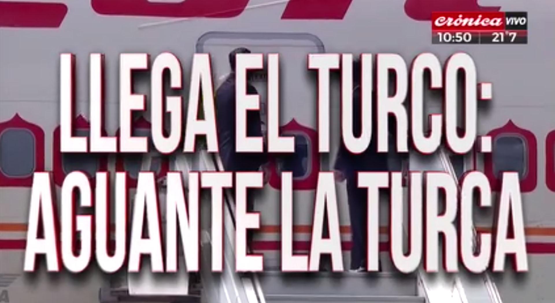 La llegada de Recep Erdogan
