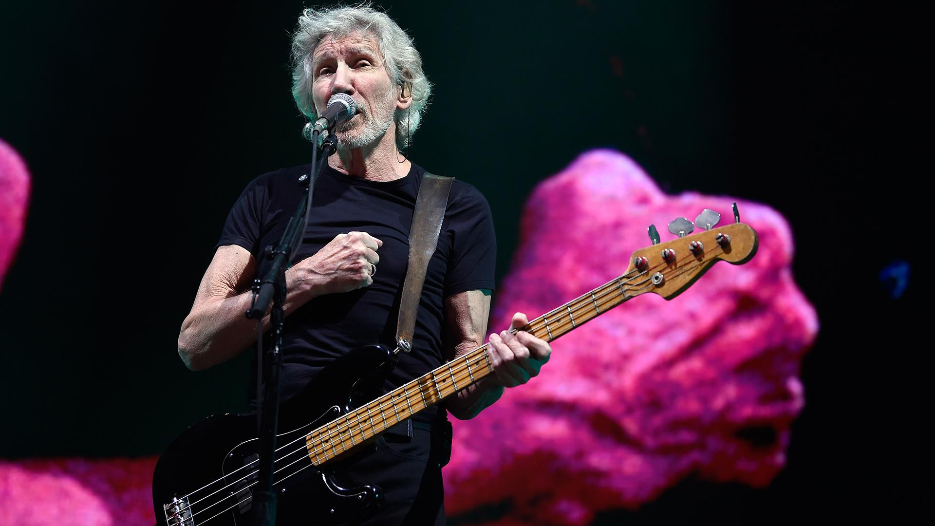 Roger Waters vistitó latinoamérica y fue reprochado por el CSW debido a sus declaraciones contra el estado de Israel (ALFREDO ESTRELLA / AFP)