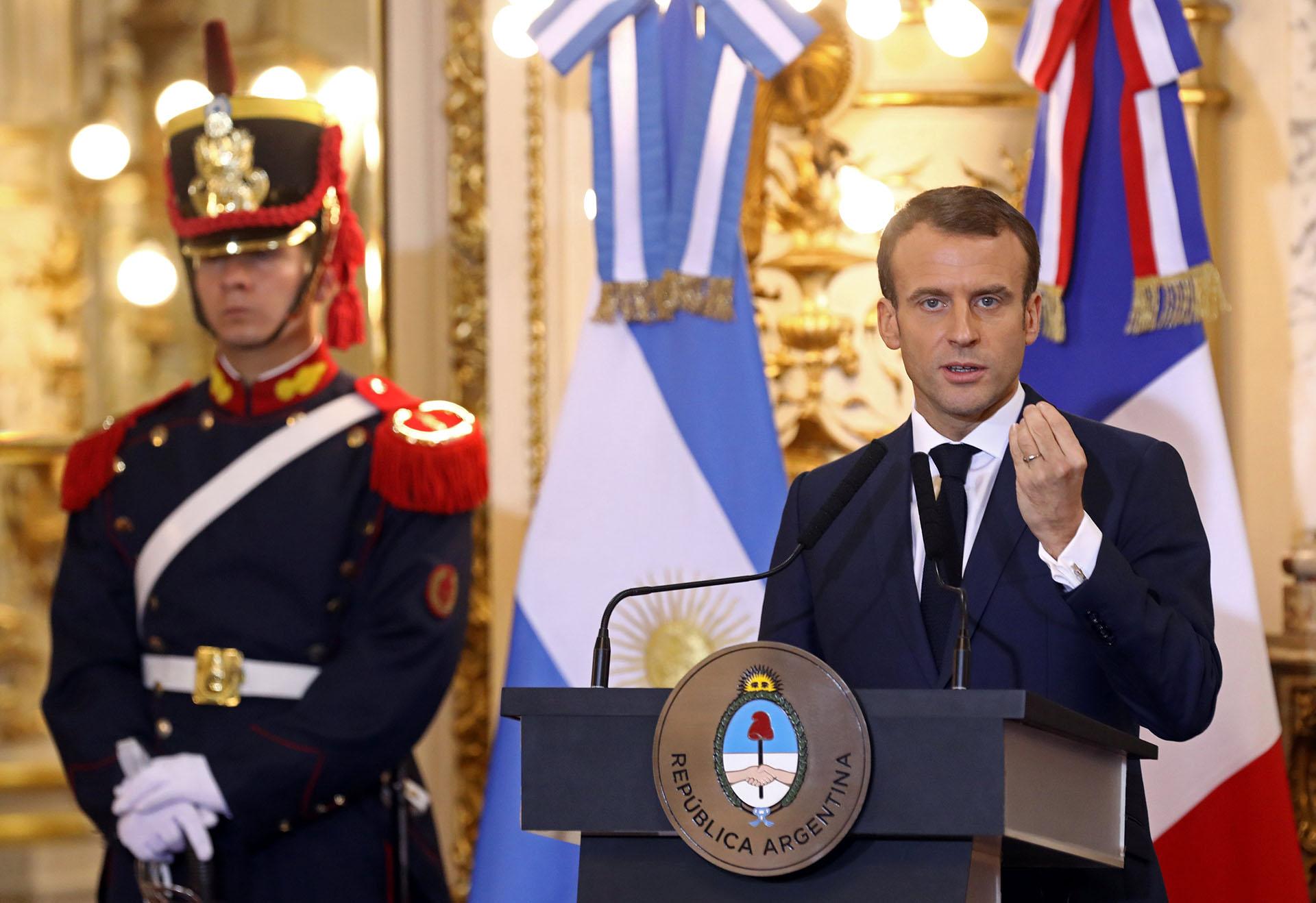 Emmanuel Macron(Reuters)