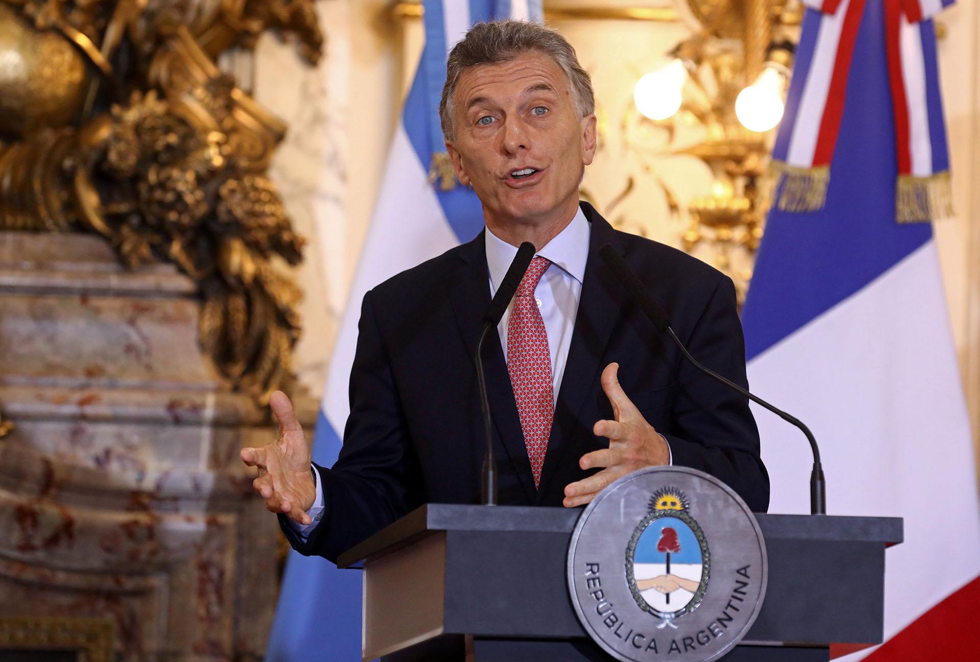 Mauricio Macri(Reuters)