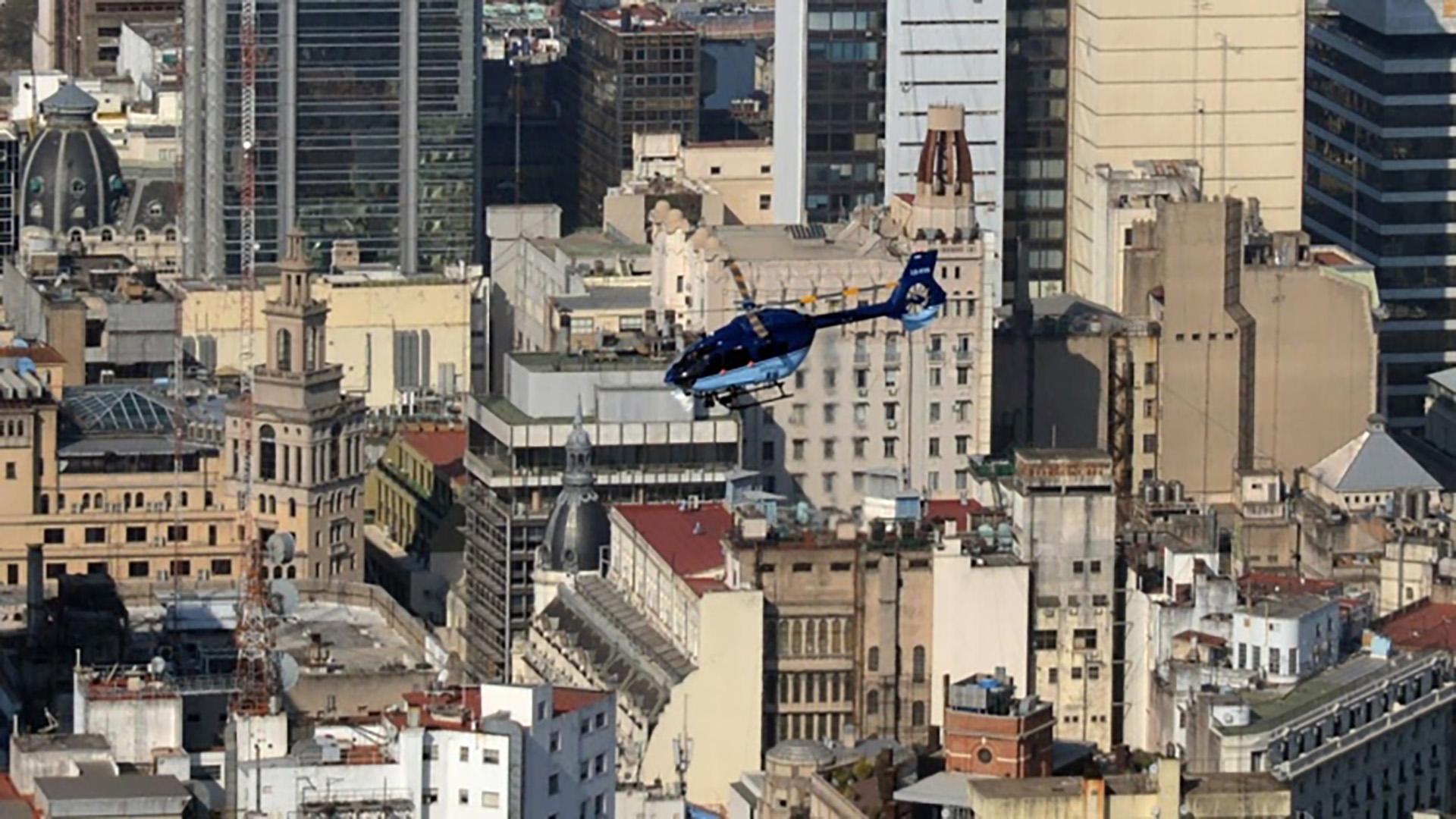 Helicópteros deAlemania, Italia y Francia se usarán durante el G20