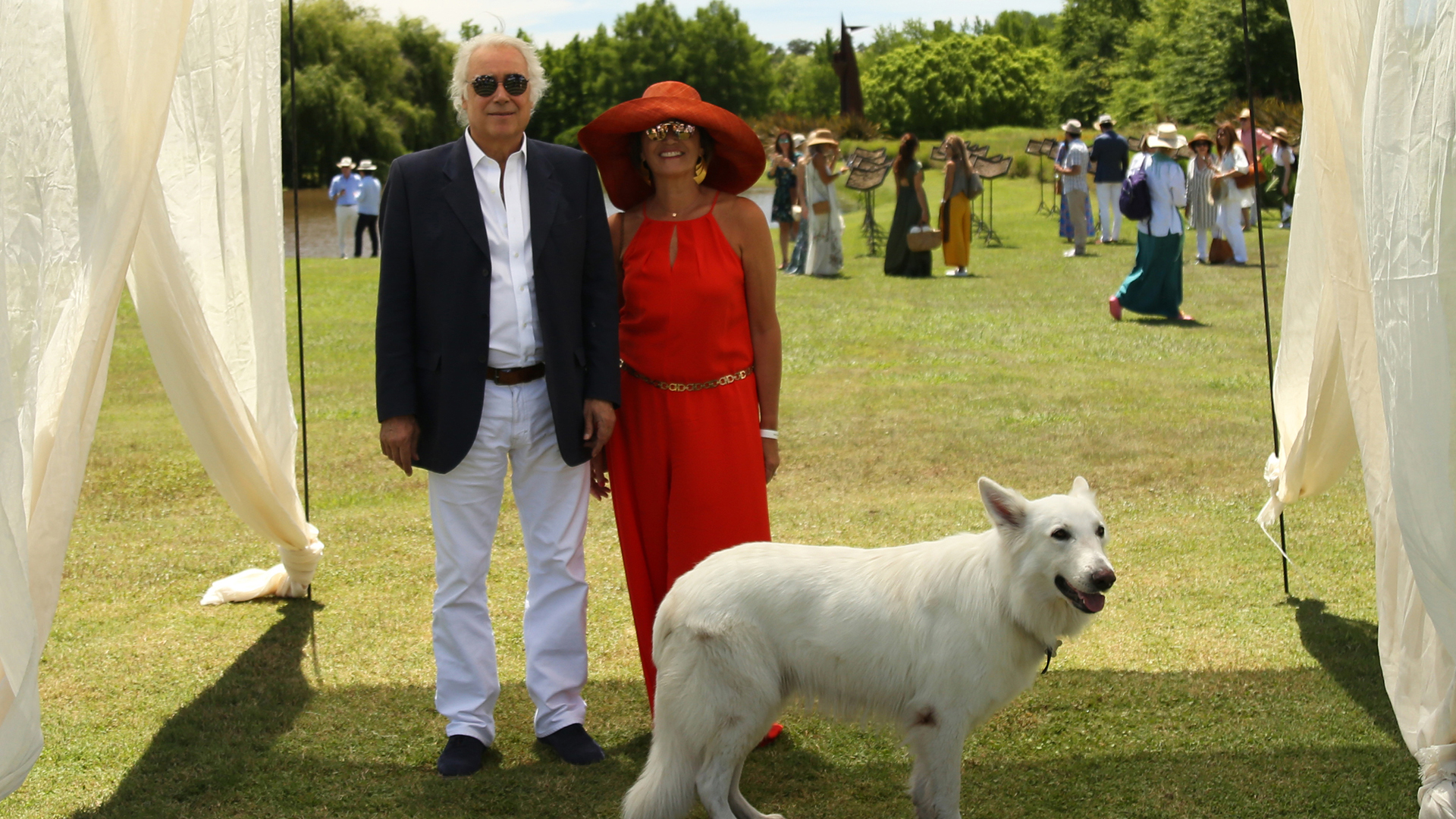 Oscar Mancini y Dora Sánchez