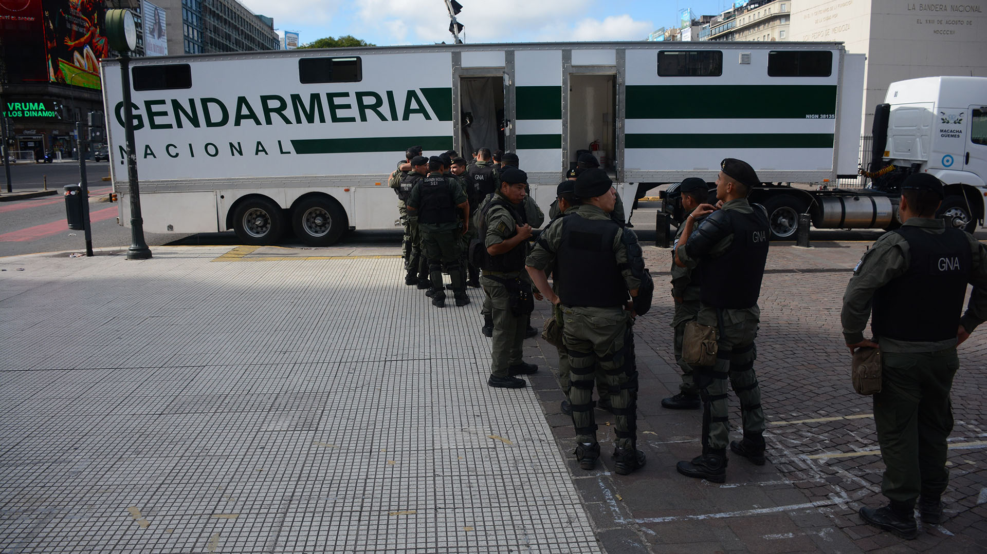 """La marcha recorrerá desde San Juan la Avenida 9 de Julio y luego """"subirá"""" por Avenida de Mayo hasta el Congreso."""