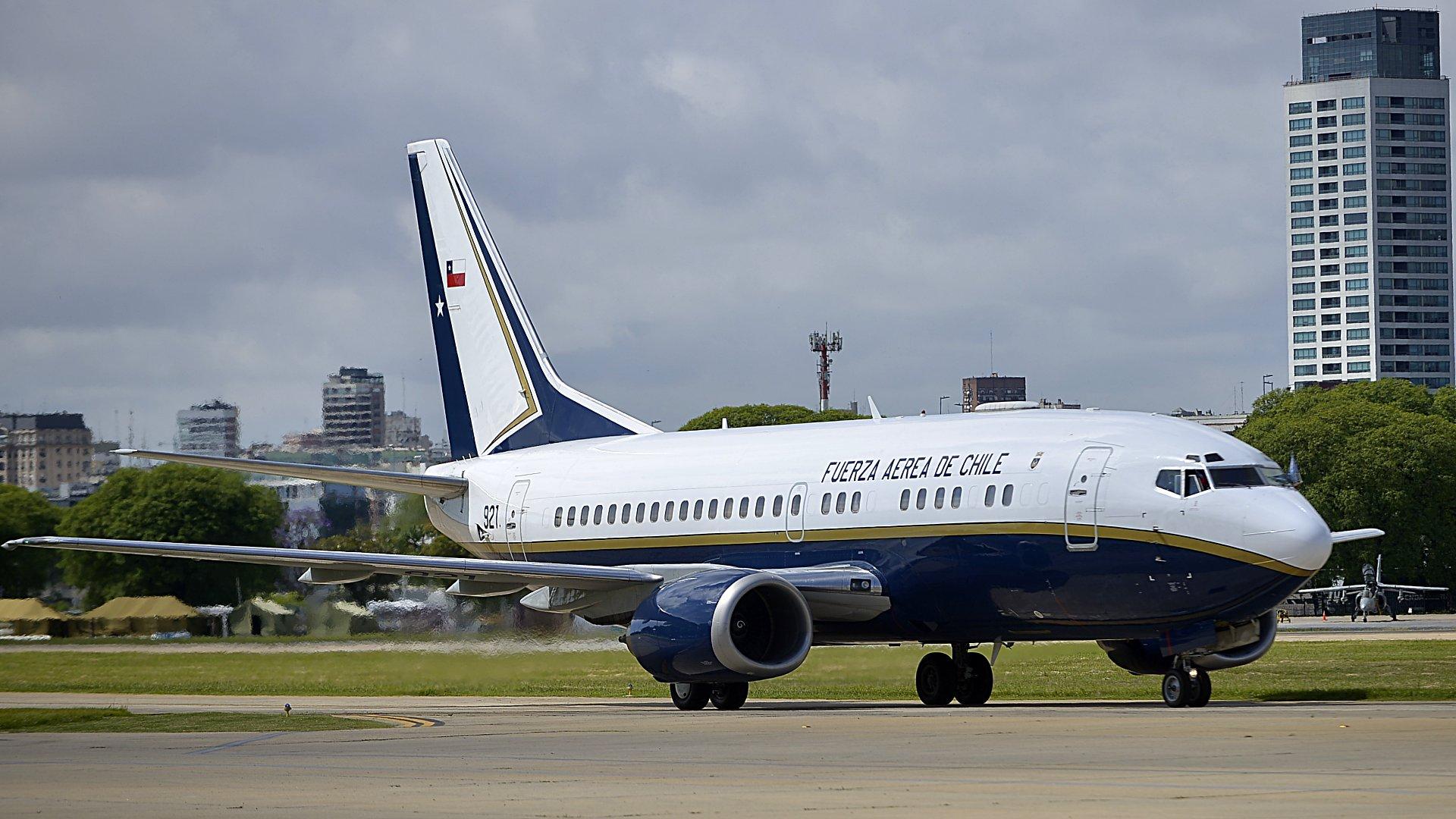 El avión de Chile