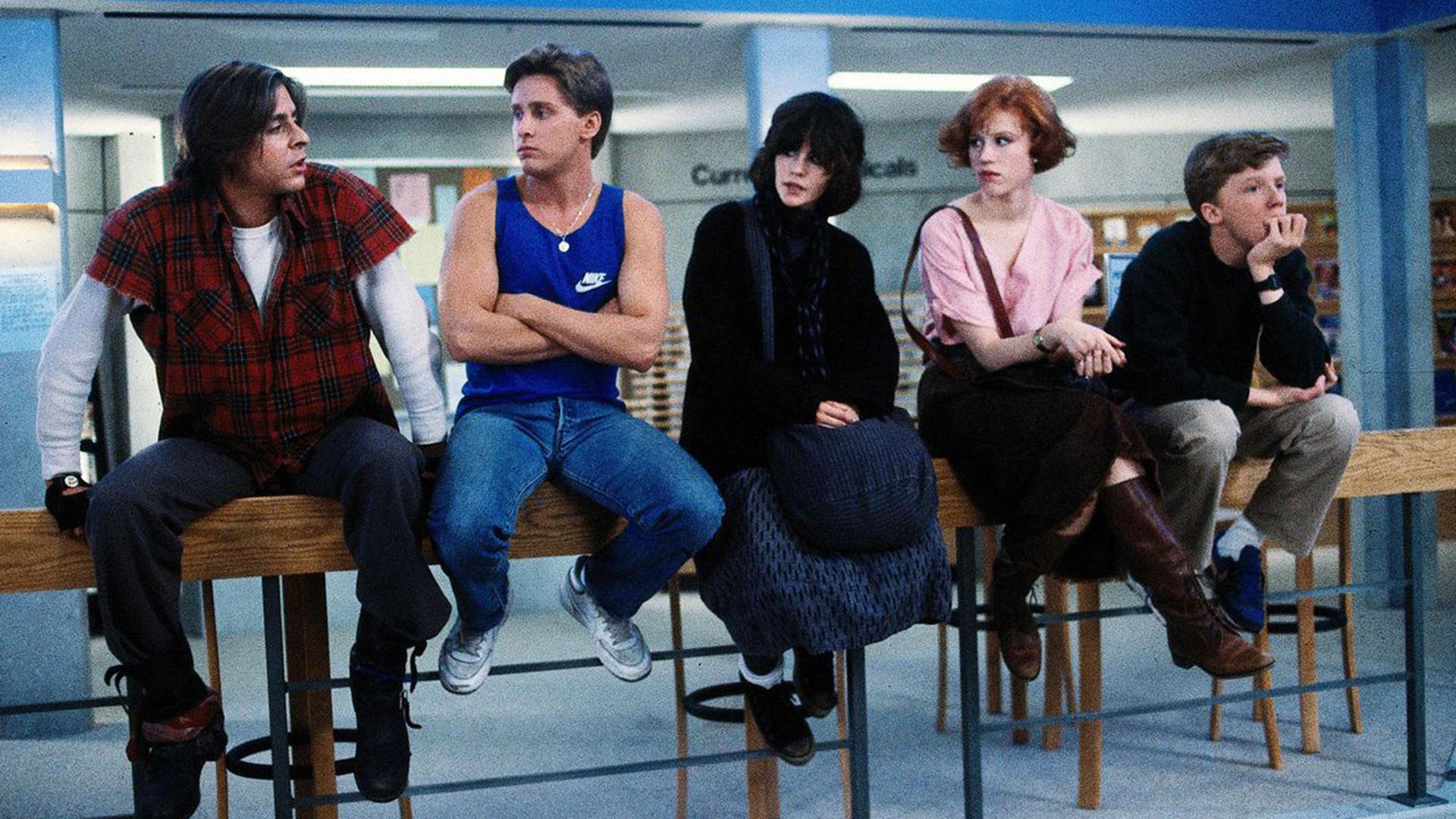 The Breakfast Club debutó en 1985 y se convirtió en un clásico de culto