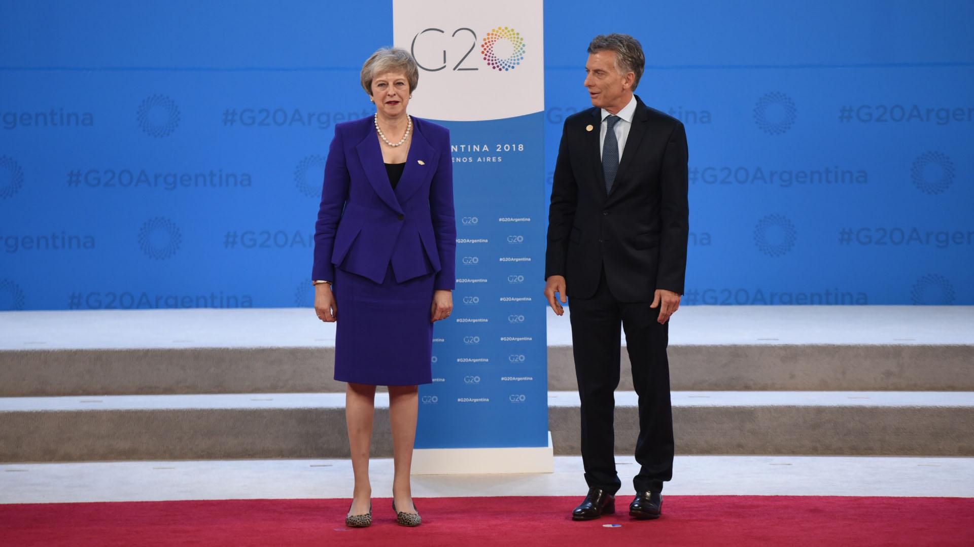 Macri y May