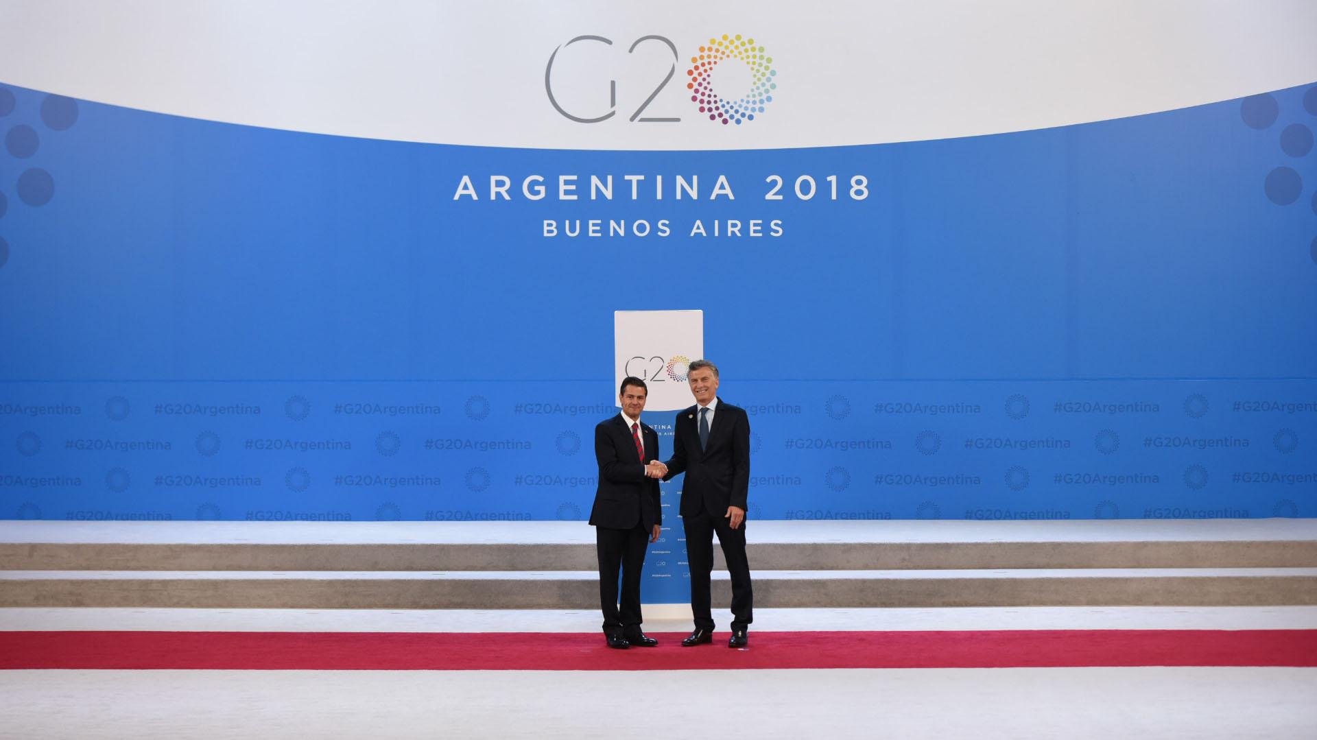 Macri y Peña Nieto